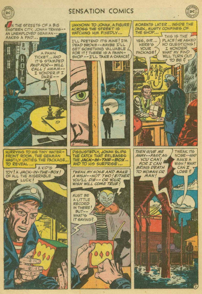 Read online Sensation (Mystery) Comics comic -  Issue #107 - 4