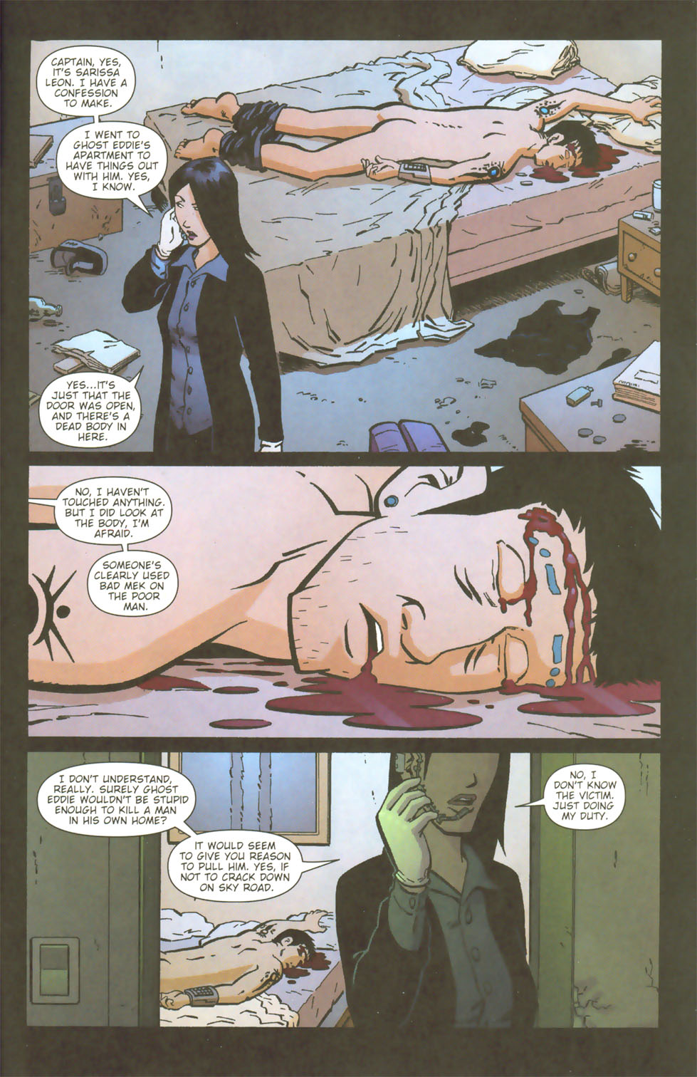 Read online Mek comic -  Issue #3 - 9