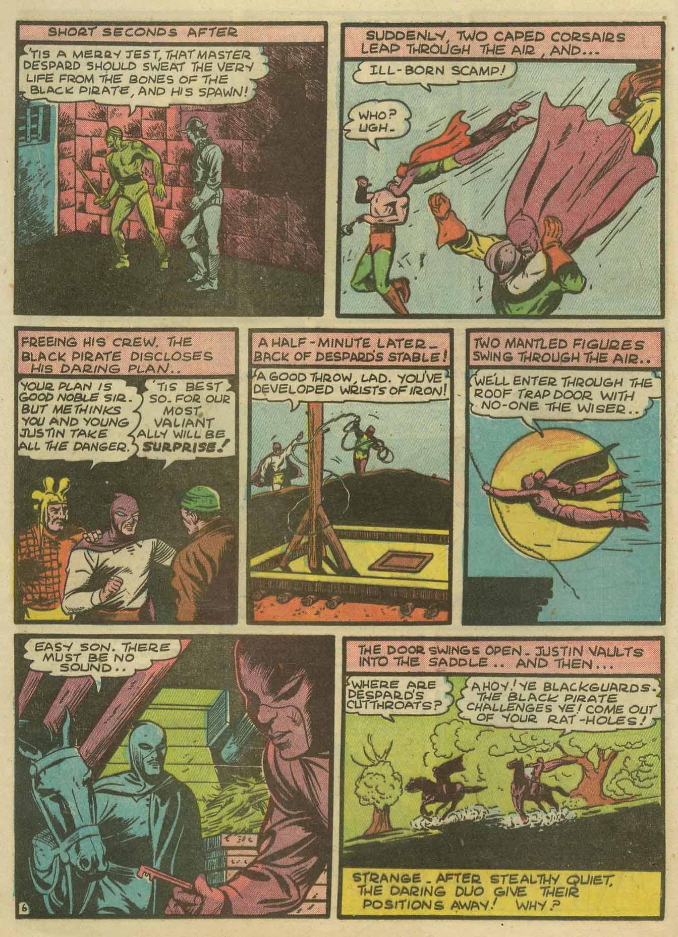 Read online Sensation (Mystery) Comics comic -  Issue #14 - 22