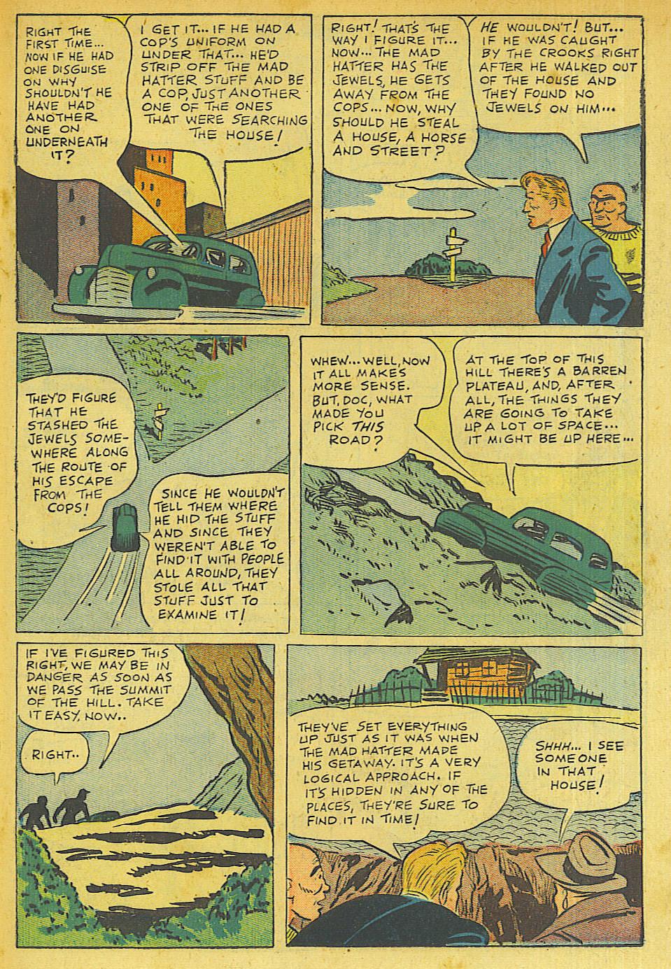 Read online Shadow Comics comic -  Issue #63 - 25