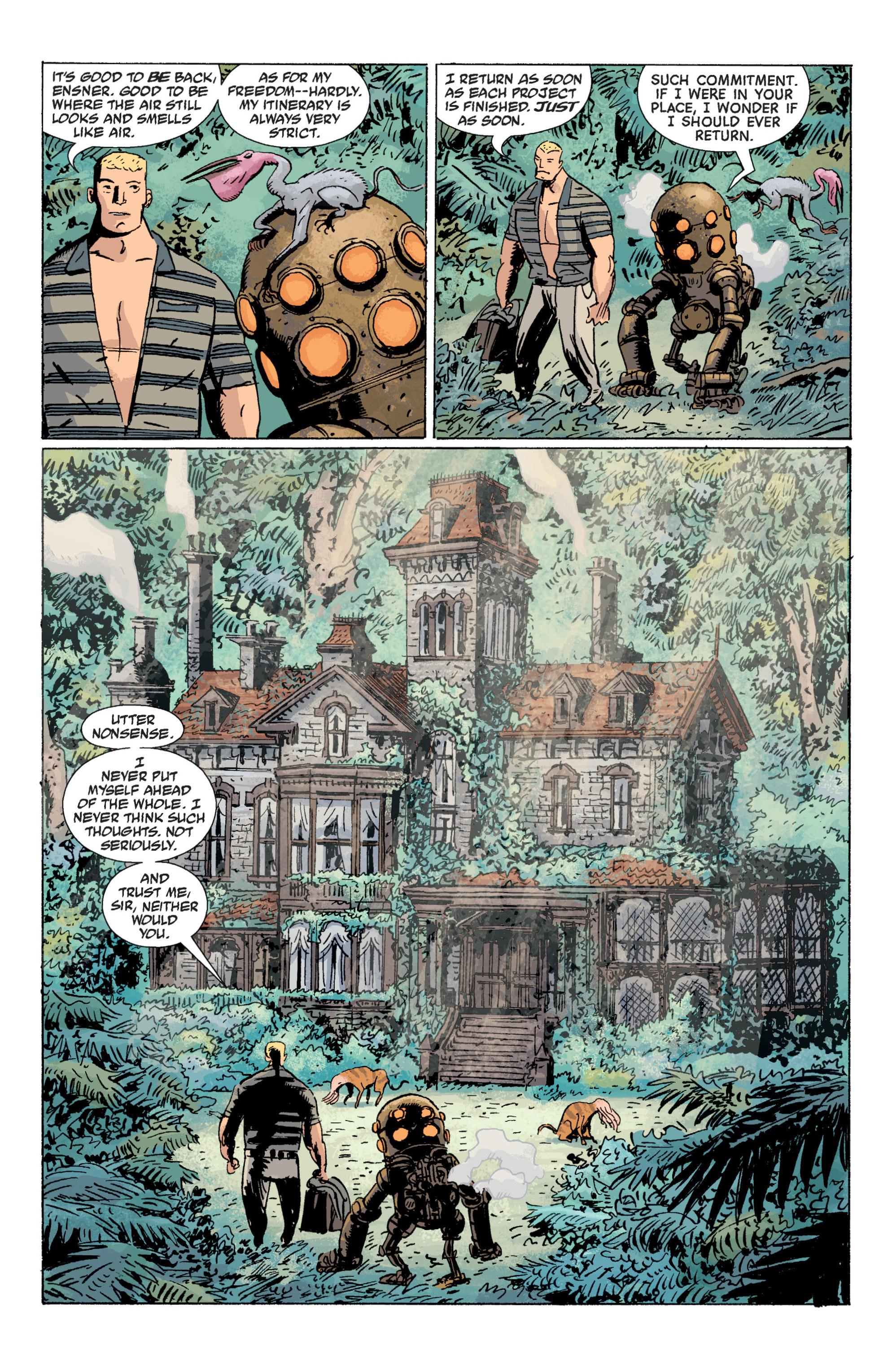 Read online B.P.R.D. (2003) comic -  Issue # TPB 7 - 47