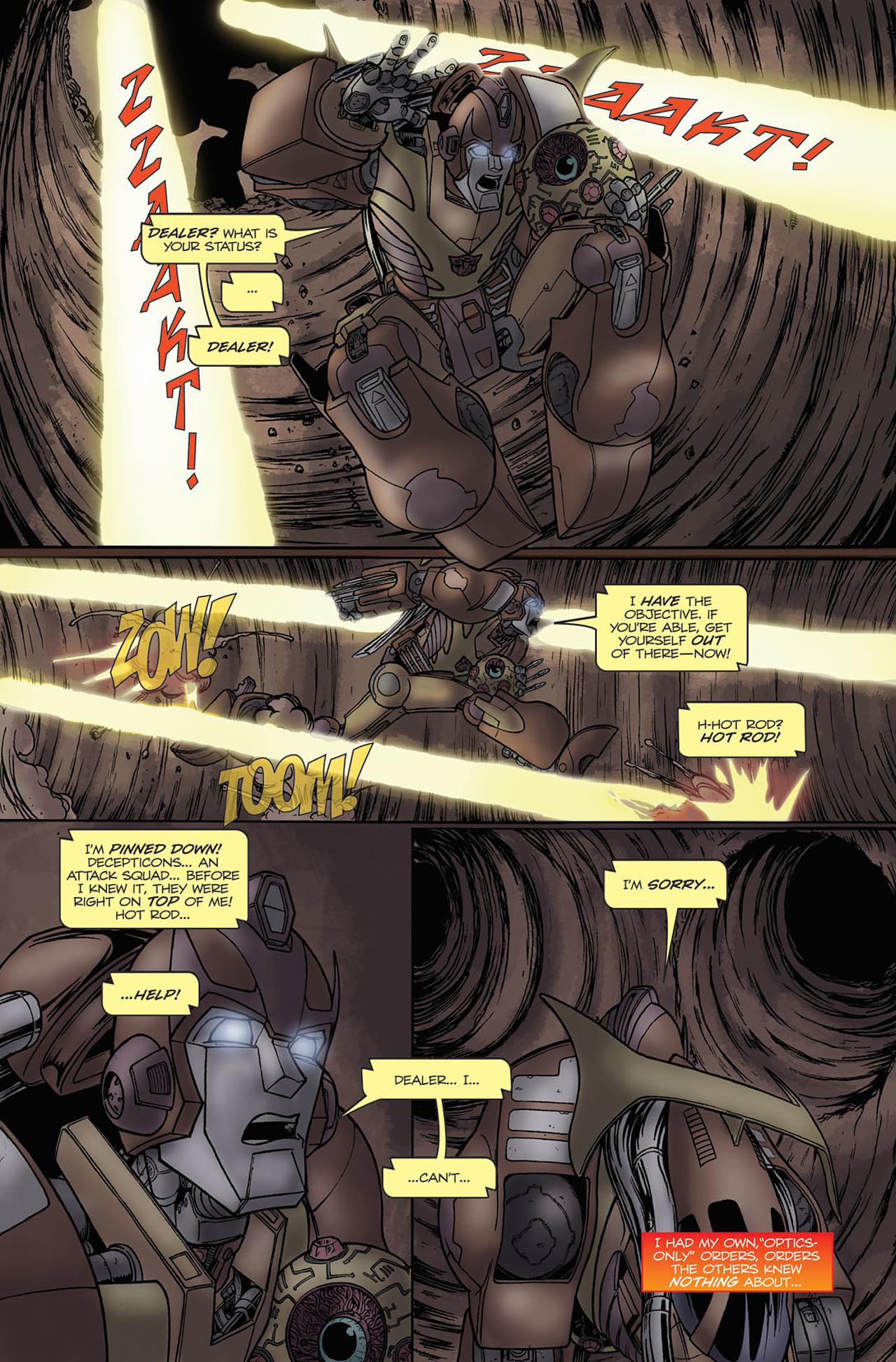 Read online Transformers Spotlight: Hot Rod comic -  Issue # Full - 19