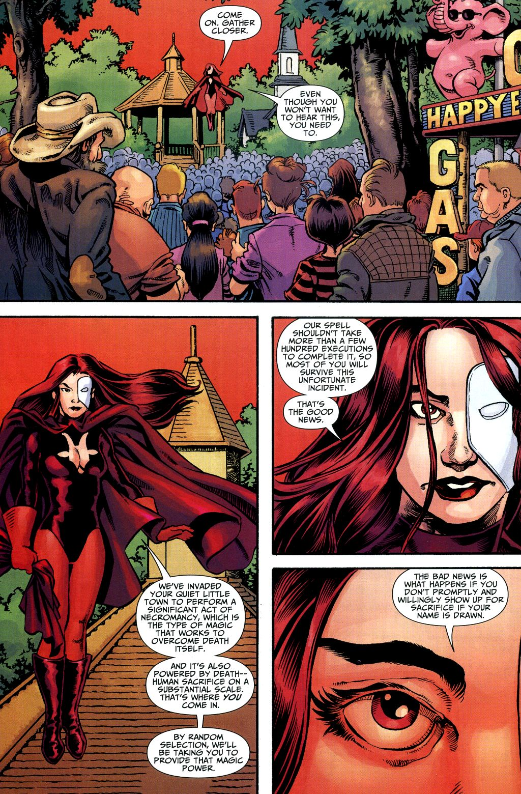 Read online Shadowpact comic -  Issue #1 - 8
