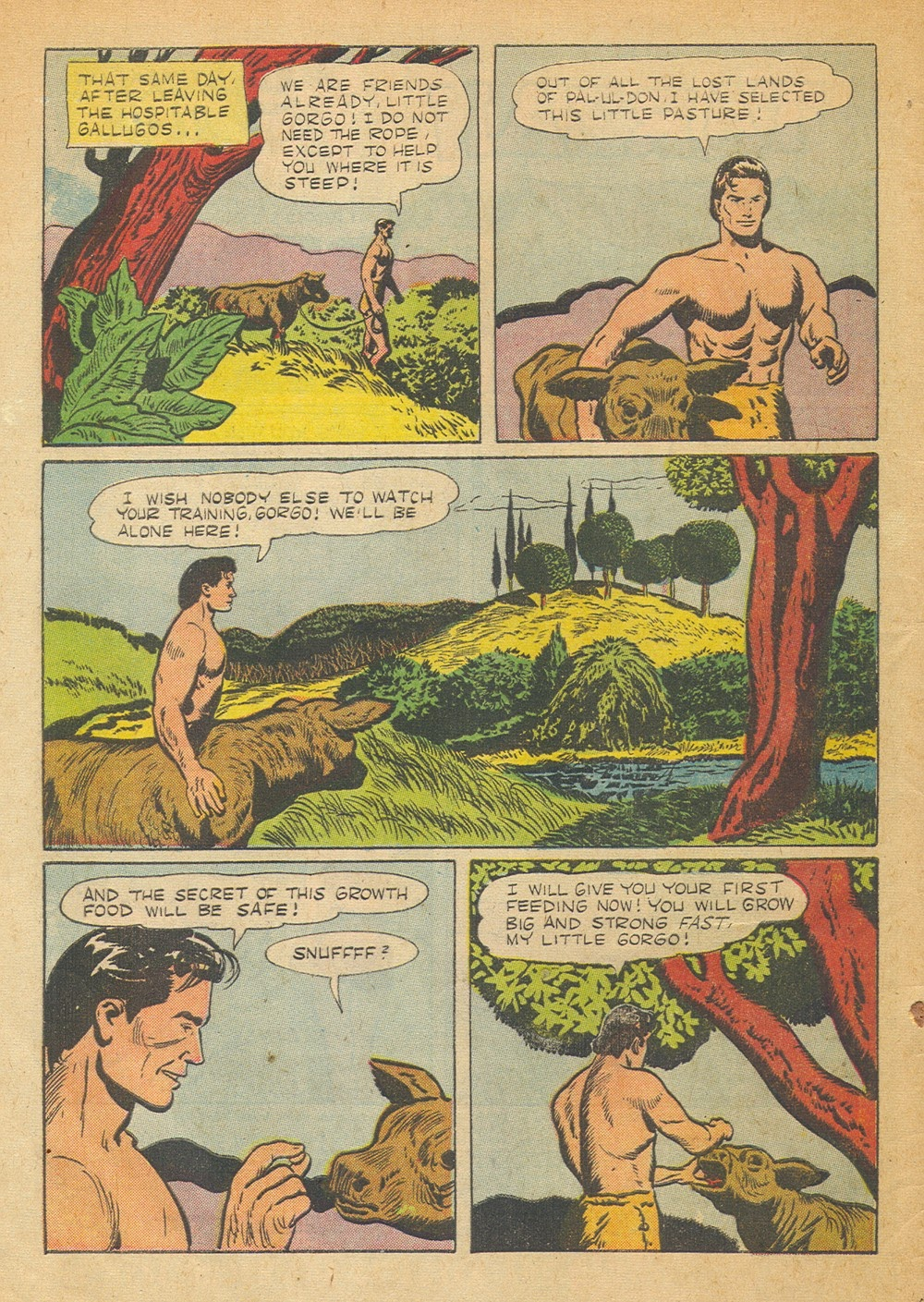 Tarzan (1948) issue 57 - Page 4