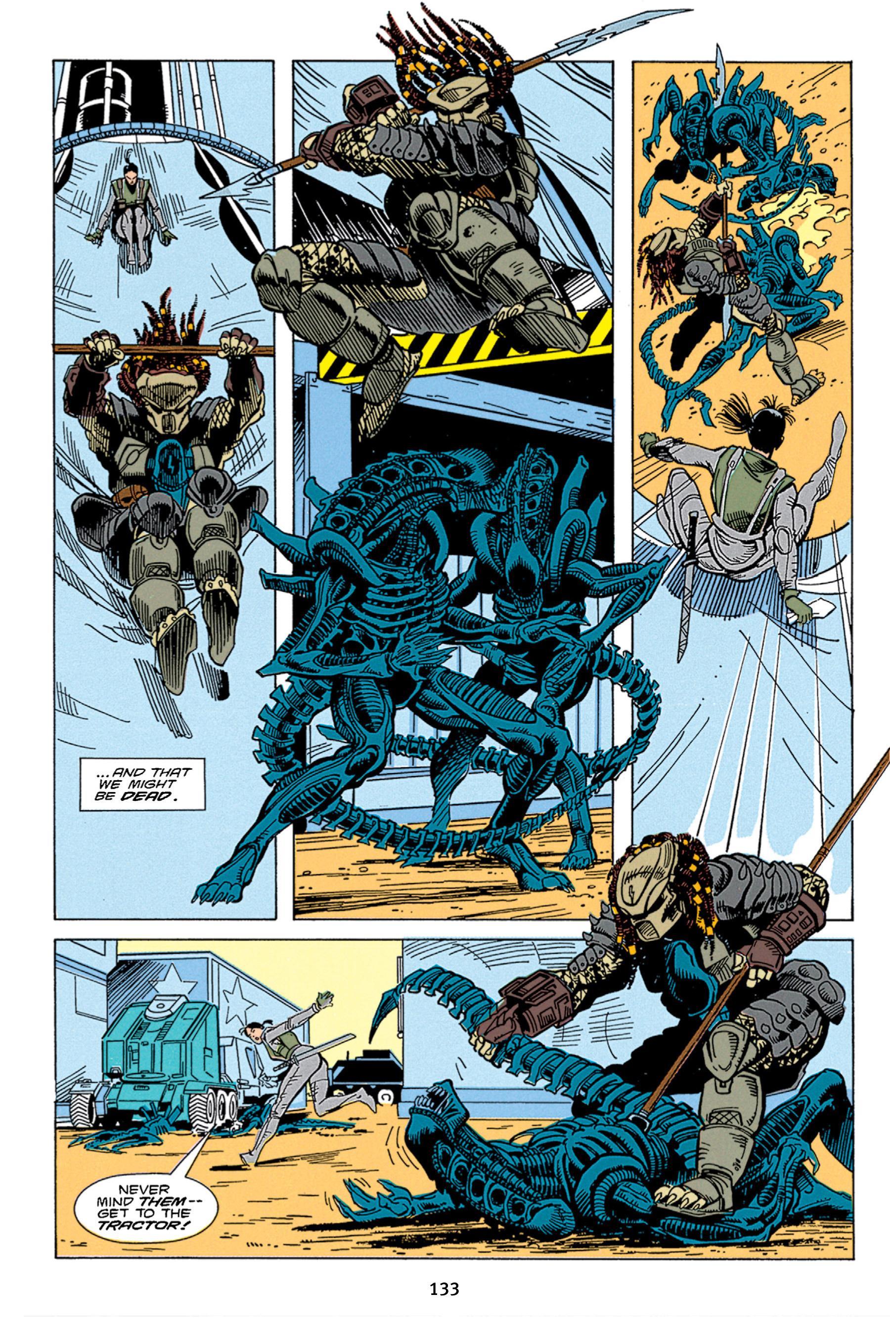 Read online Aliens vs. Predator Omnibus comic -  Issue # _TPB 1 Part 2 - 32