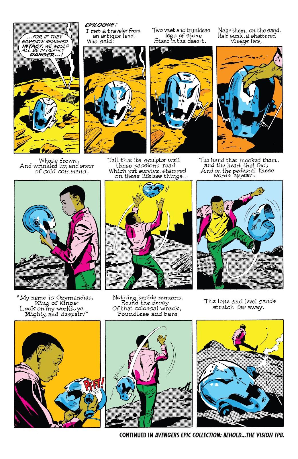 Read online Marvel Tales: Avengers comic -  Issue # Full - 46