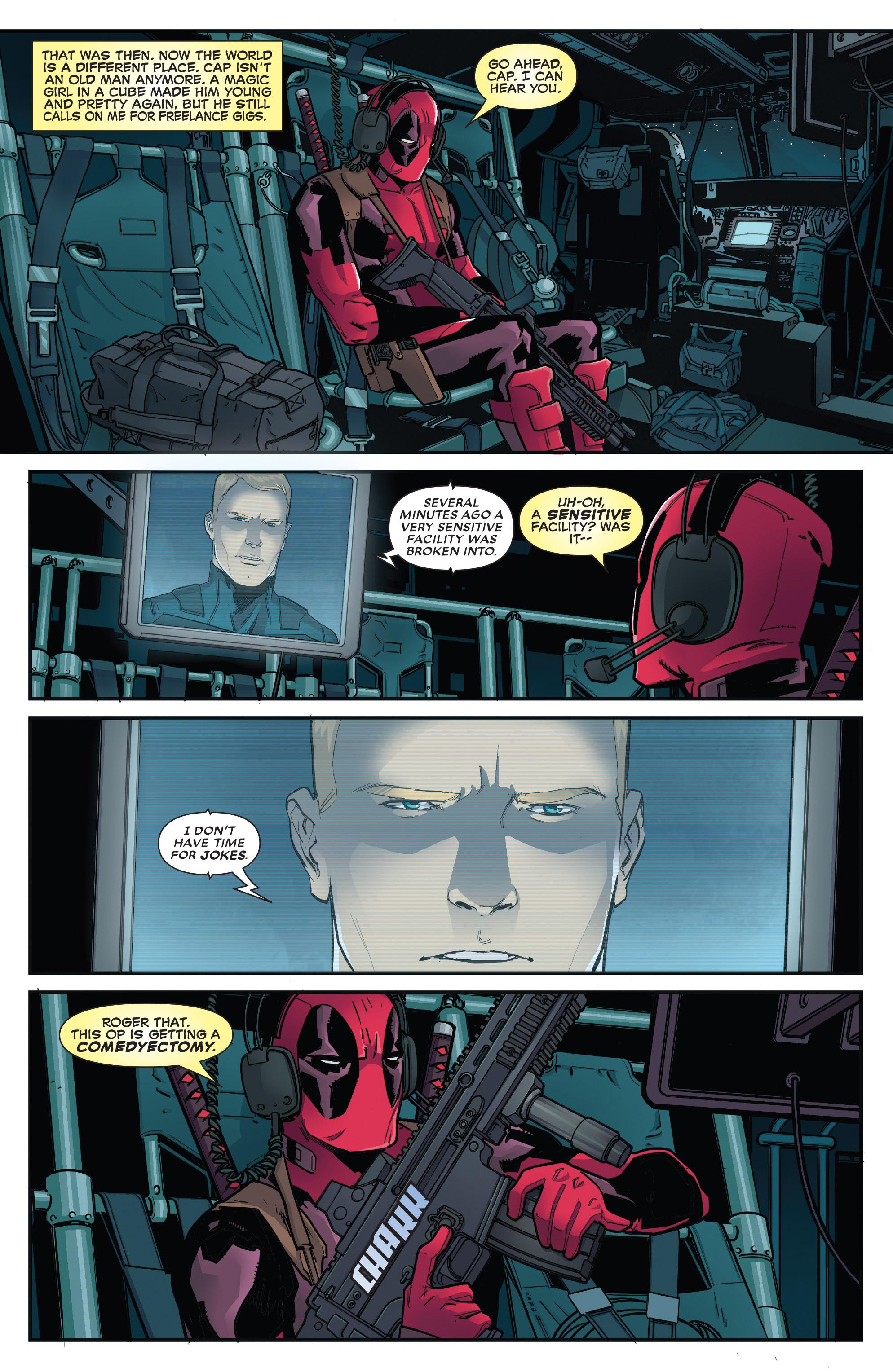 Read online Deadpool (2016) comic -  Issue #31 - 4