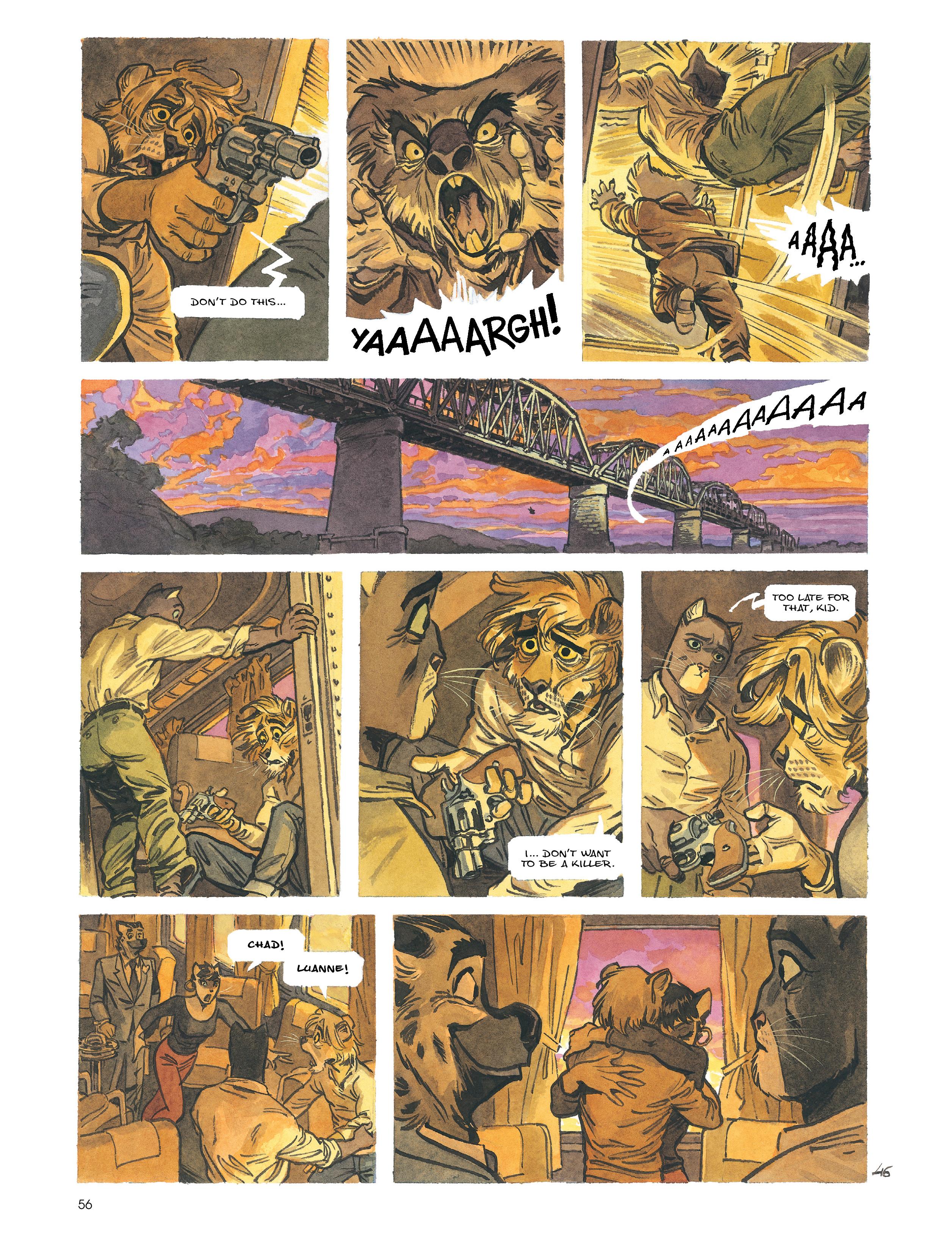 Read online Blacksad: Amarillo comic -  Issue # Full - 55