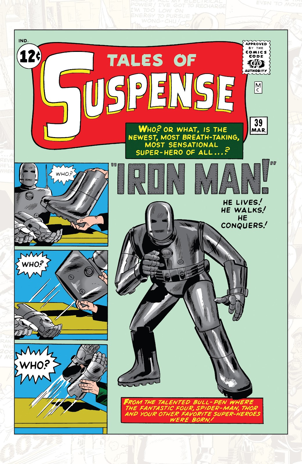 Read online Marvel Tales: Iron Man comic -  Issue # Full - 5