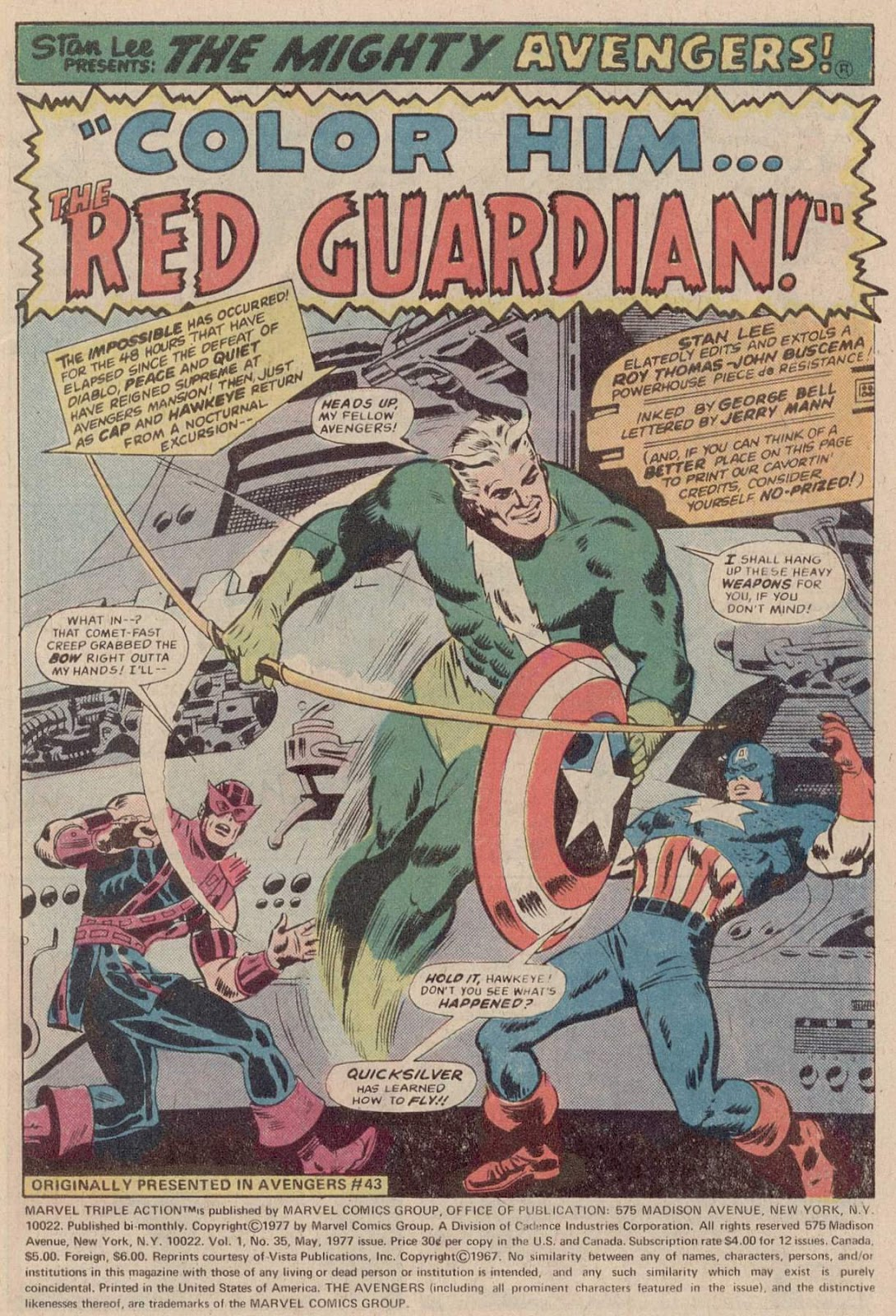 Marvel Triple Action (1972) issue 35 - Page 3