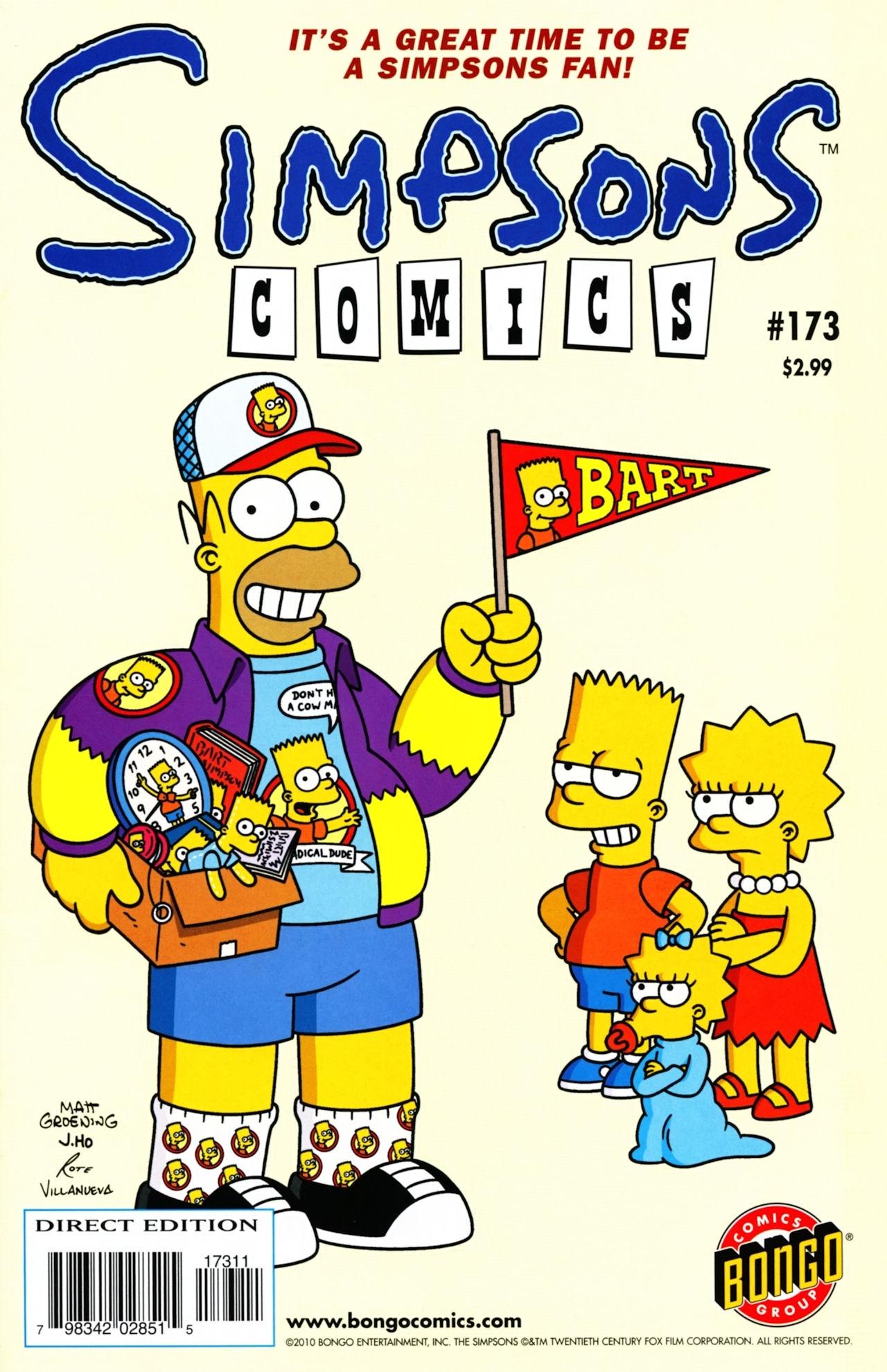 Read online Simpsons Comics comic -  Issue #173 - 1
