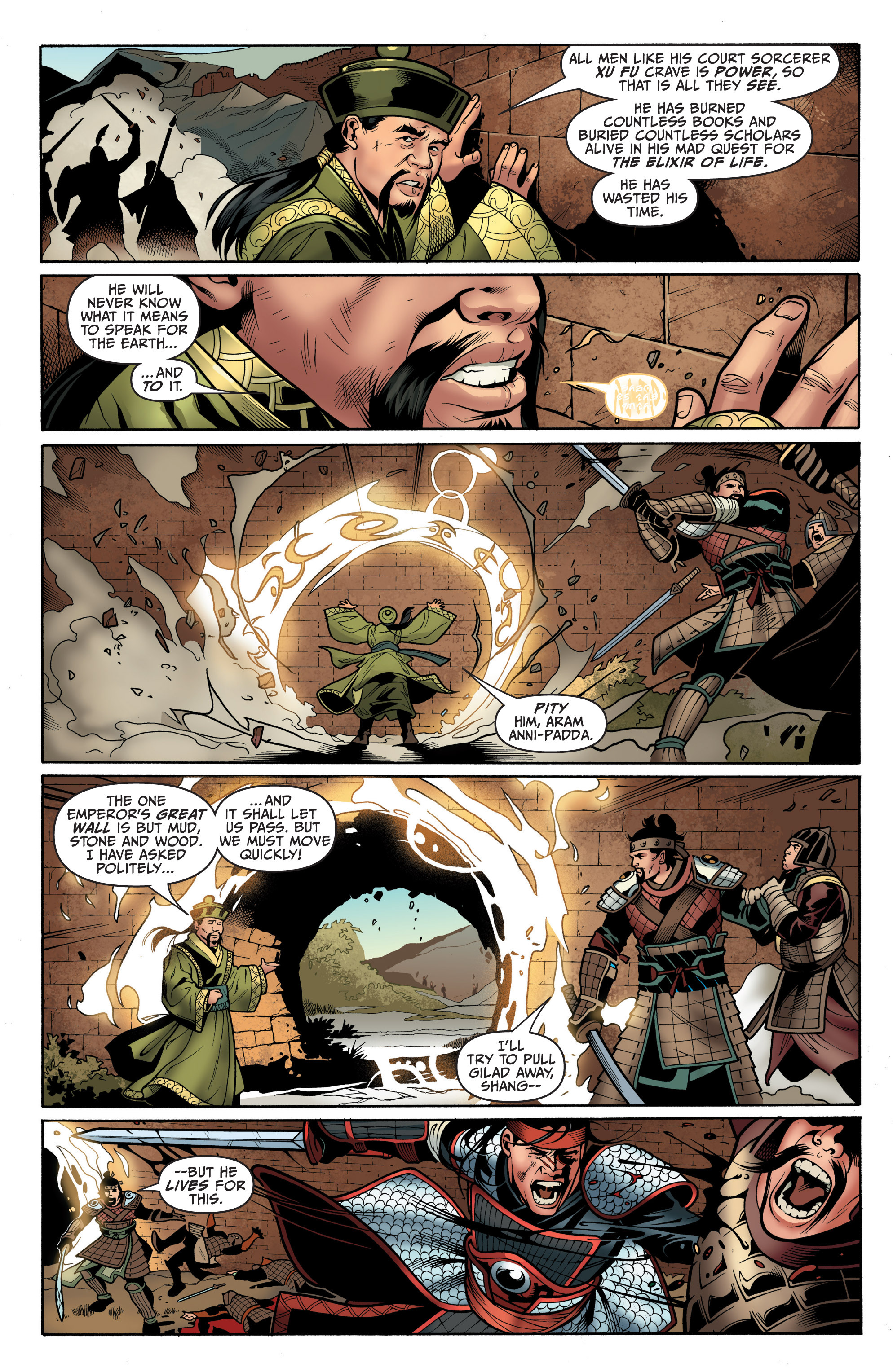 Read online Archer and Armstrong comic -  Issue #5 - 7