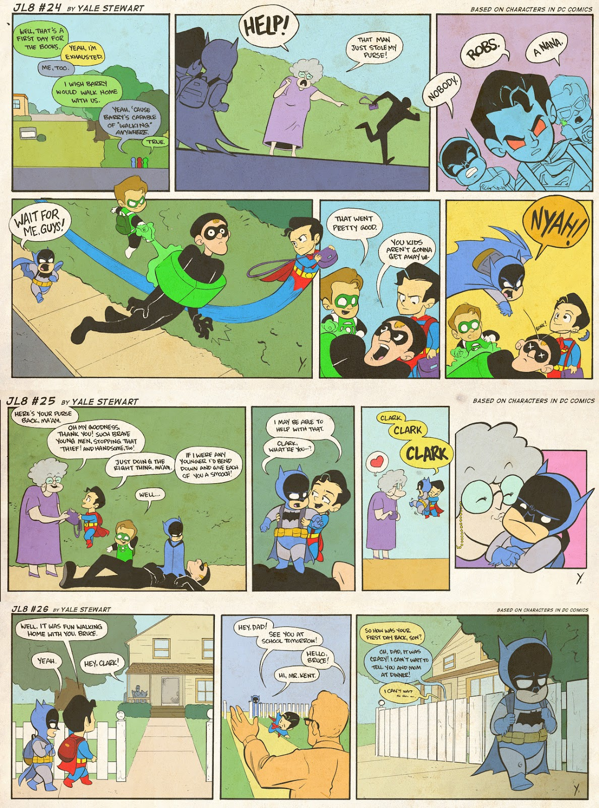 Read online JL8 – The Complete Collection comic -  Issue # TPB (Part 1) - 11