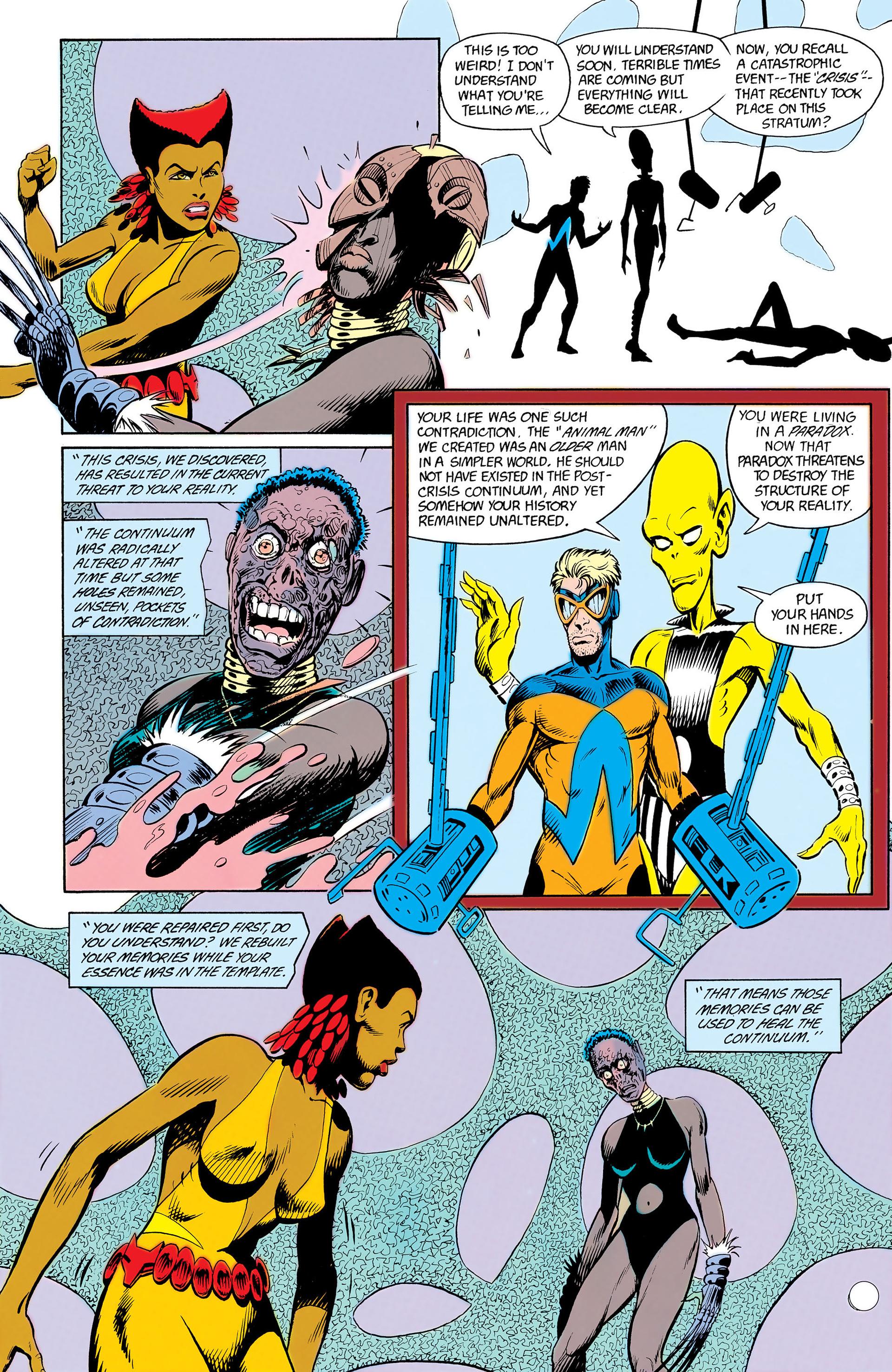 Read online Animal Man (1988) comic -  Issue #12 - 20