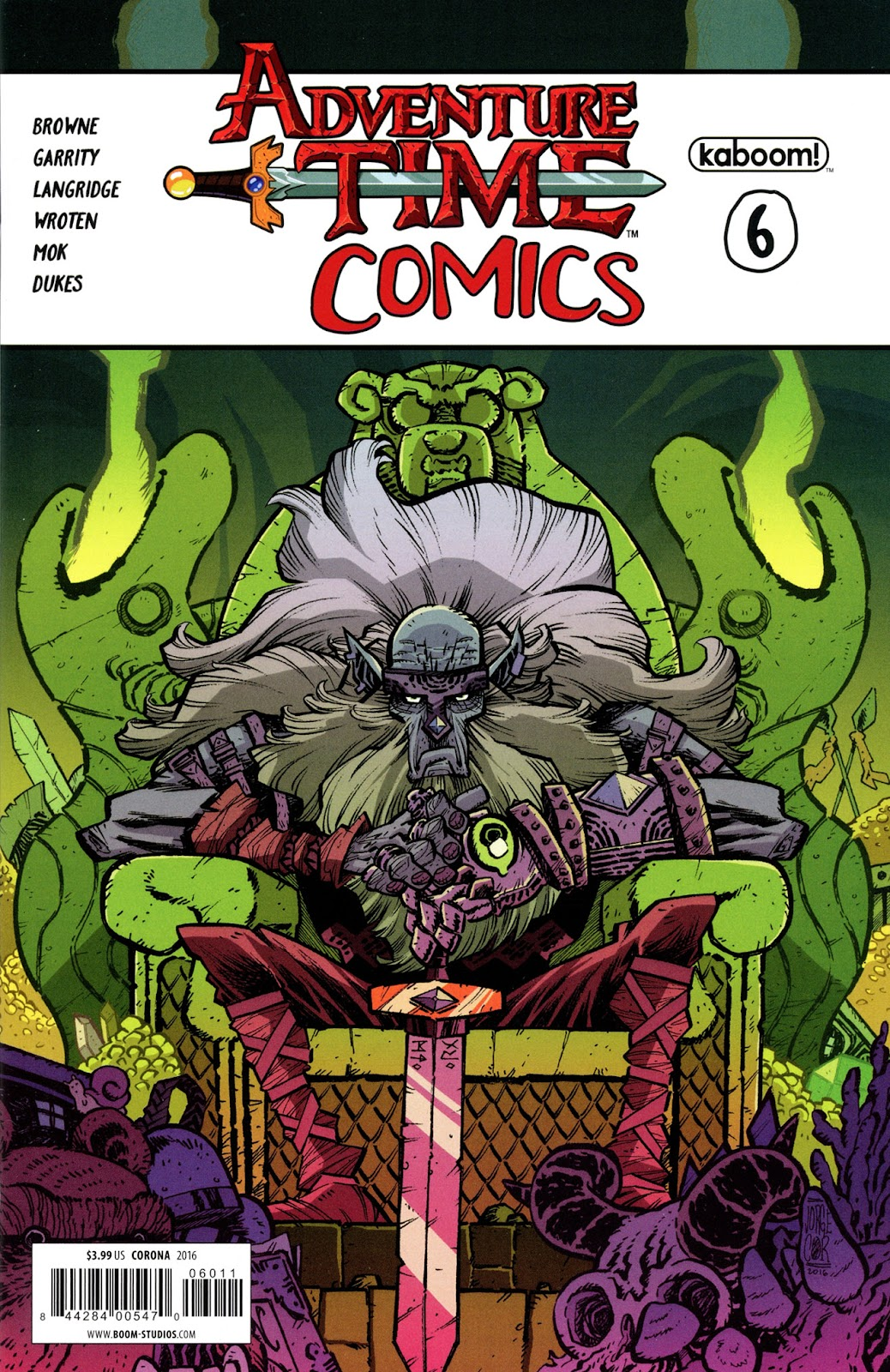 Read online Adventure Time Comics comic -  Issue #6 - 1