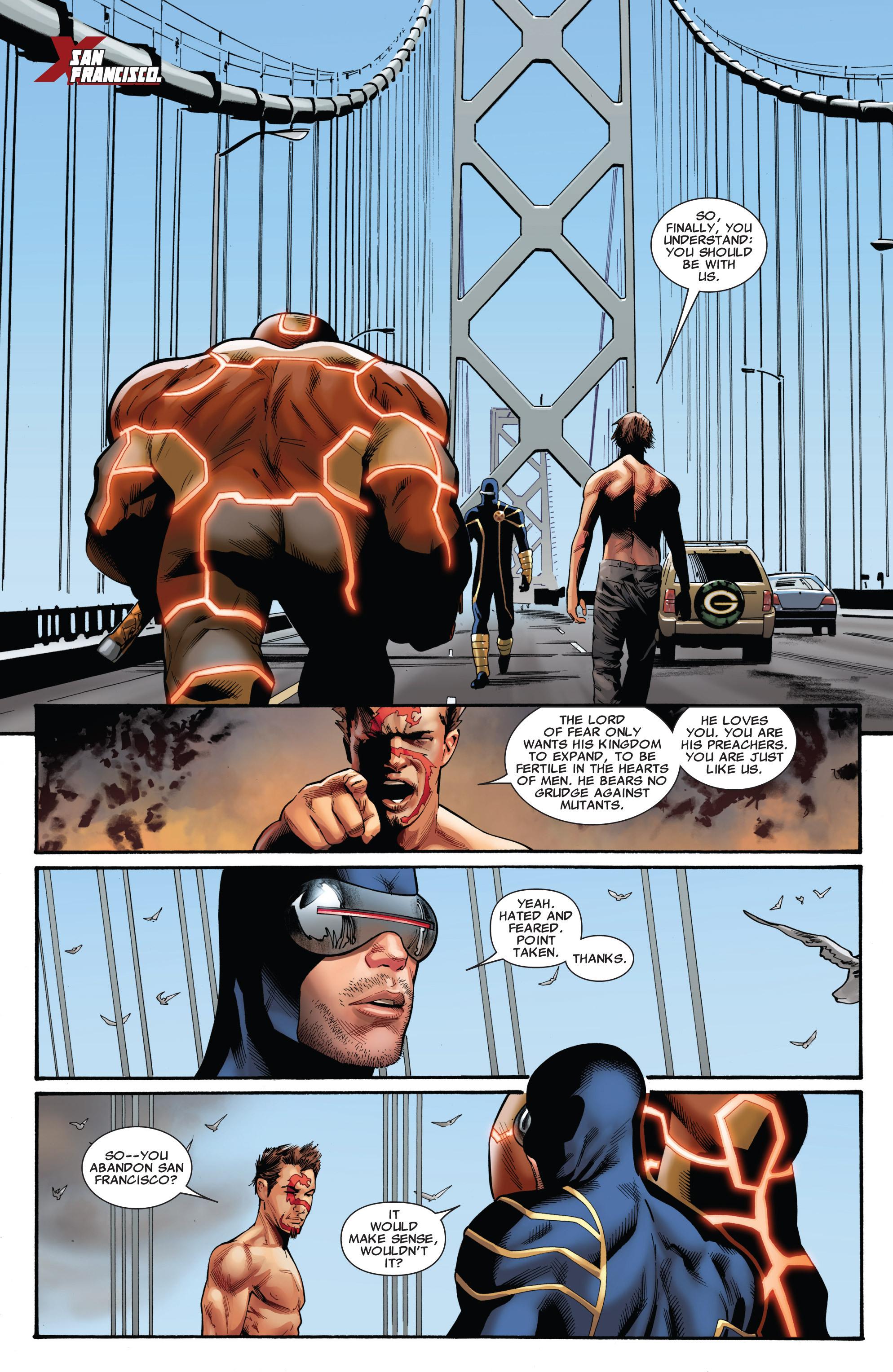 Read online Uncanny X-Men (1963) comic -  Issue #543 - 4