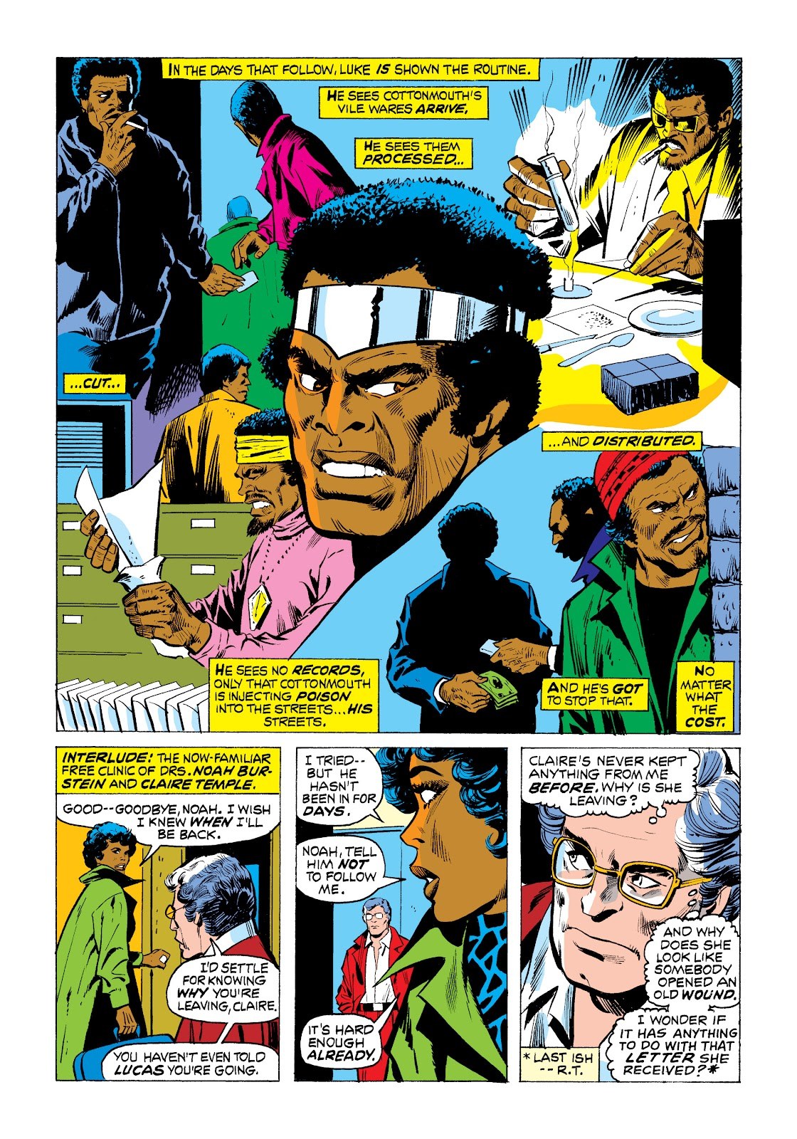 Read online Marvel Masterworks: Luke Cage, Power Man comic -  Issue # TPB 2 (Part 1) - 79