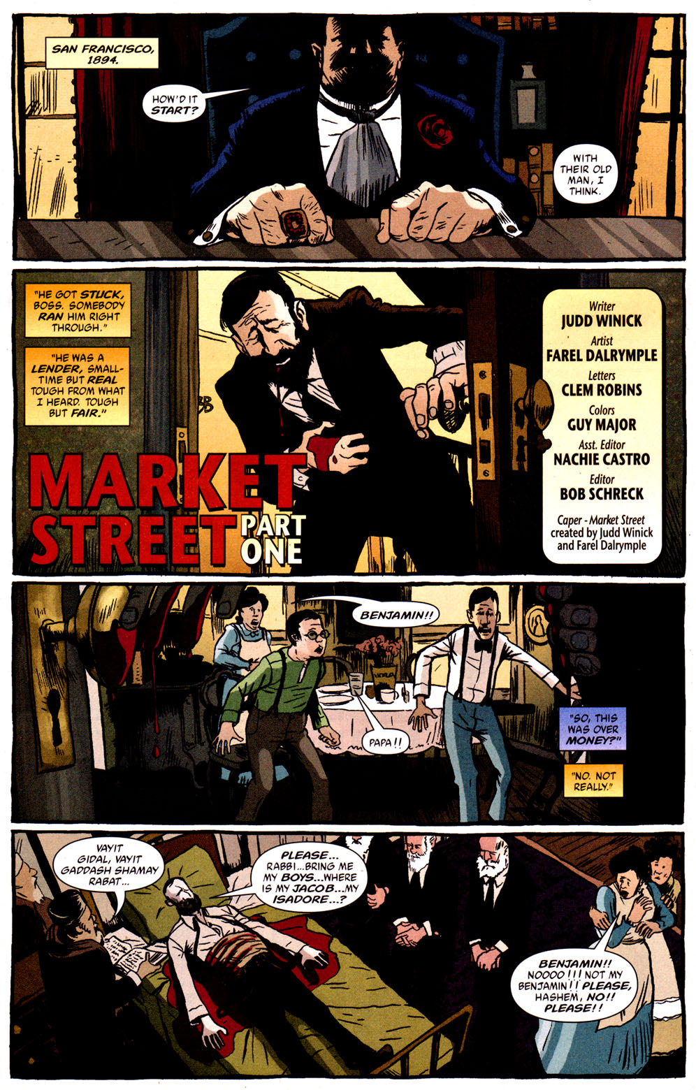 Read online Caper comic -  Issue #1 - 2