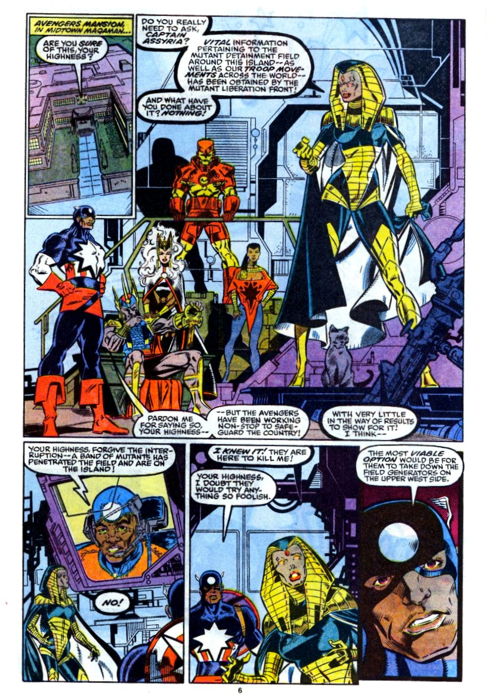The New Warriors Issue #12 #16 - English 6