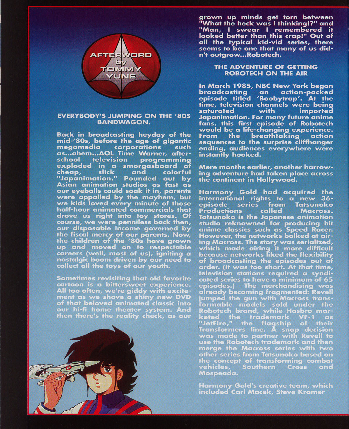 Robotech (2003) issue 0 - Page 34