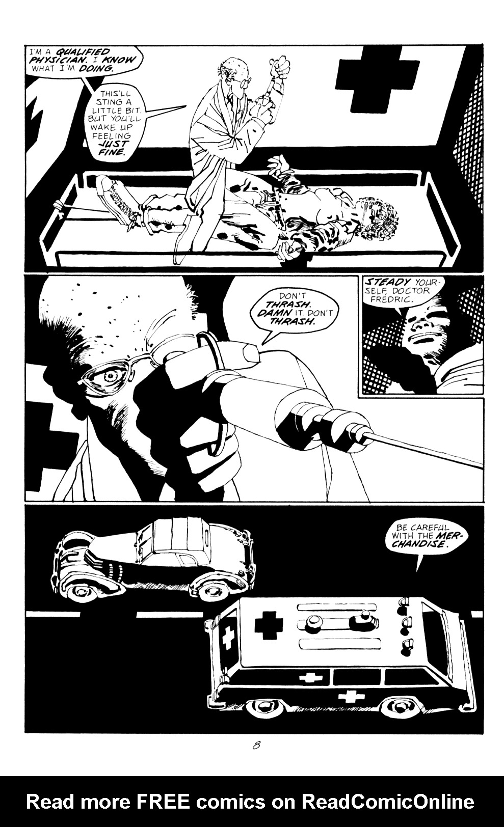 Read online Sin City: Hell and Back comic -  Issue #2 - 9