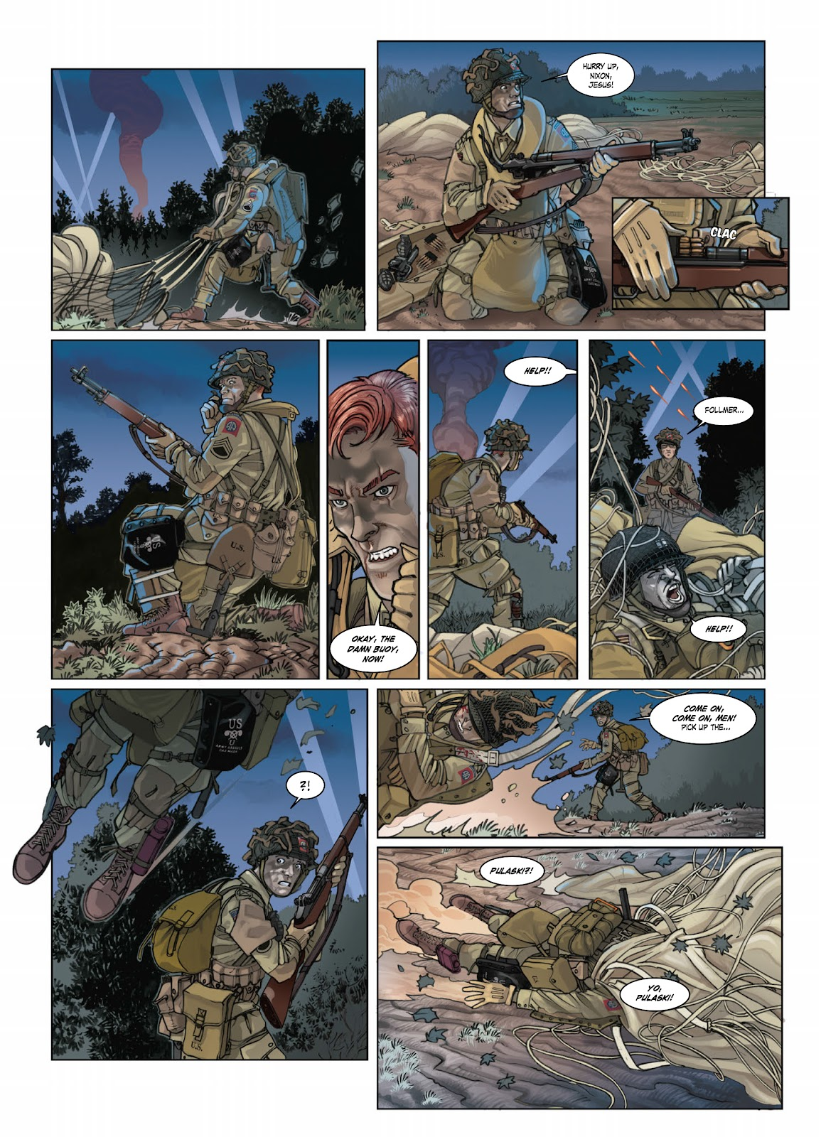 Read online Opération Overlord comic -  Issue #1 - 14