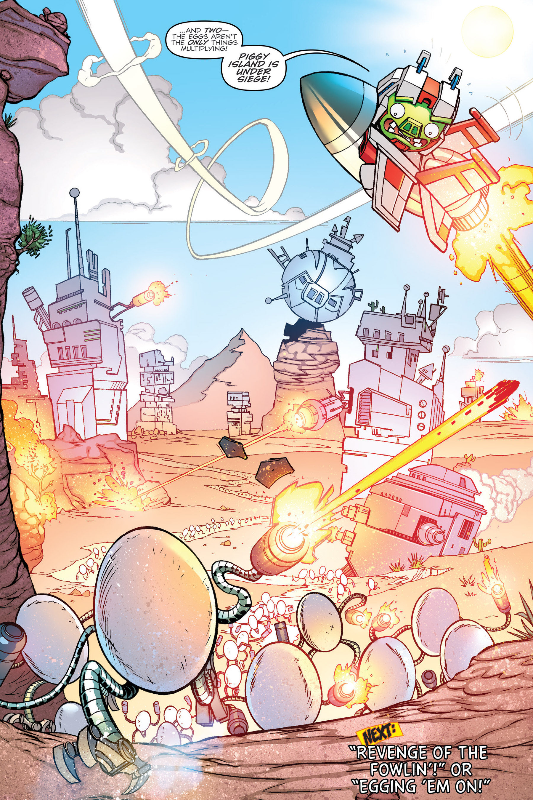 Read online Angry Birds Transformers: Age of Eggstinction comic -  Issue # Full - 47