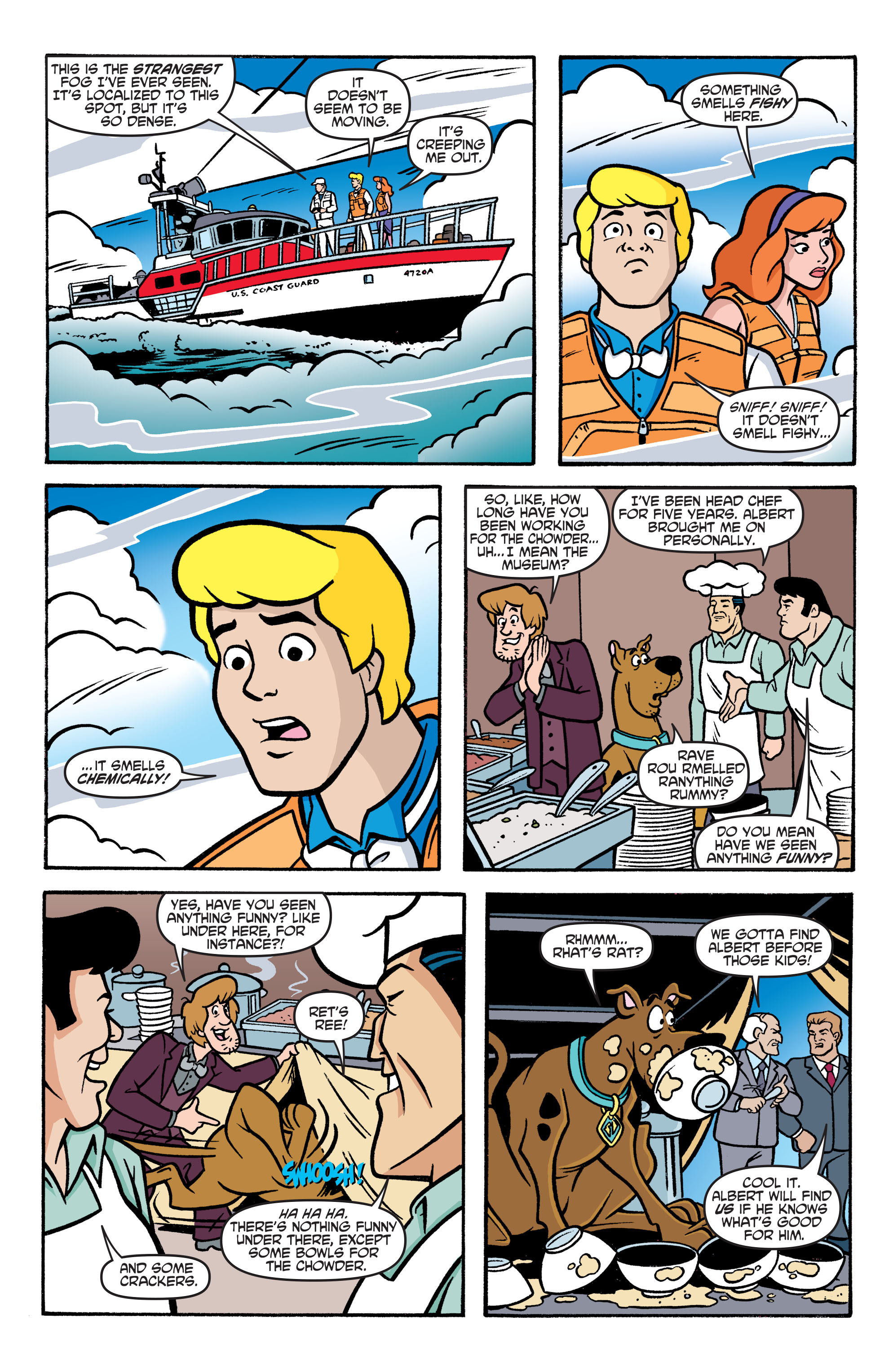 Read online Scooby-Doo: Where Are You? comic -  Issue #77 - 17