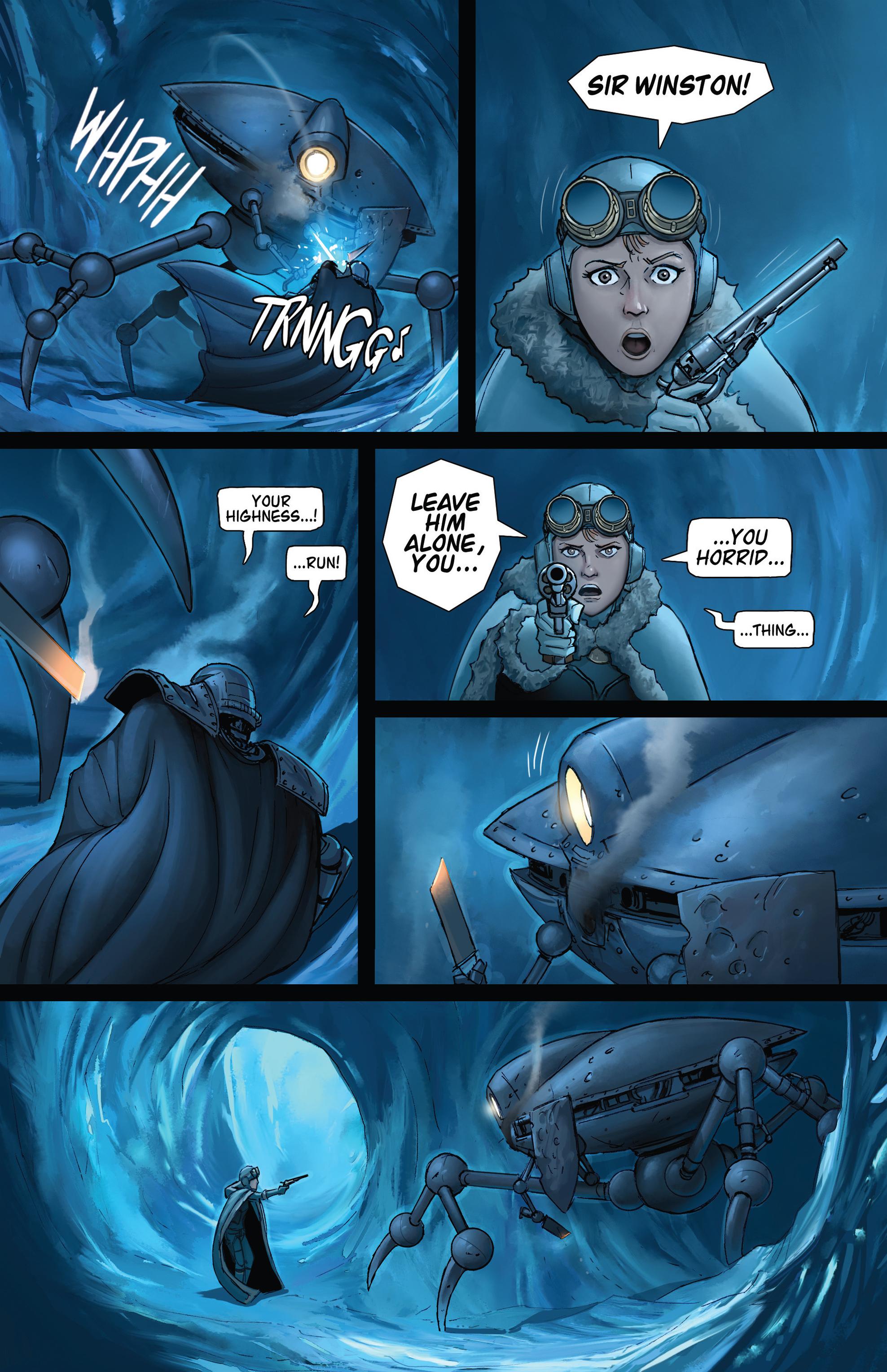 Read online Steam Wars: First Empire comic -  Issue #4 - 14