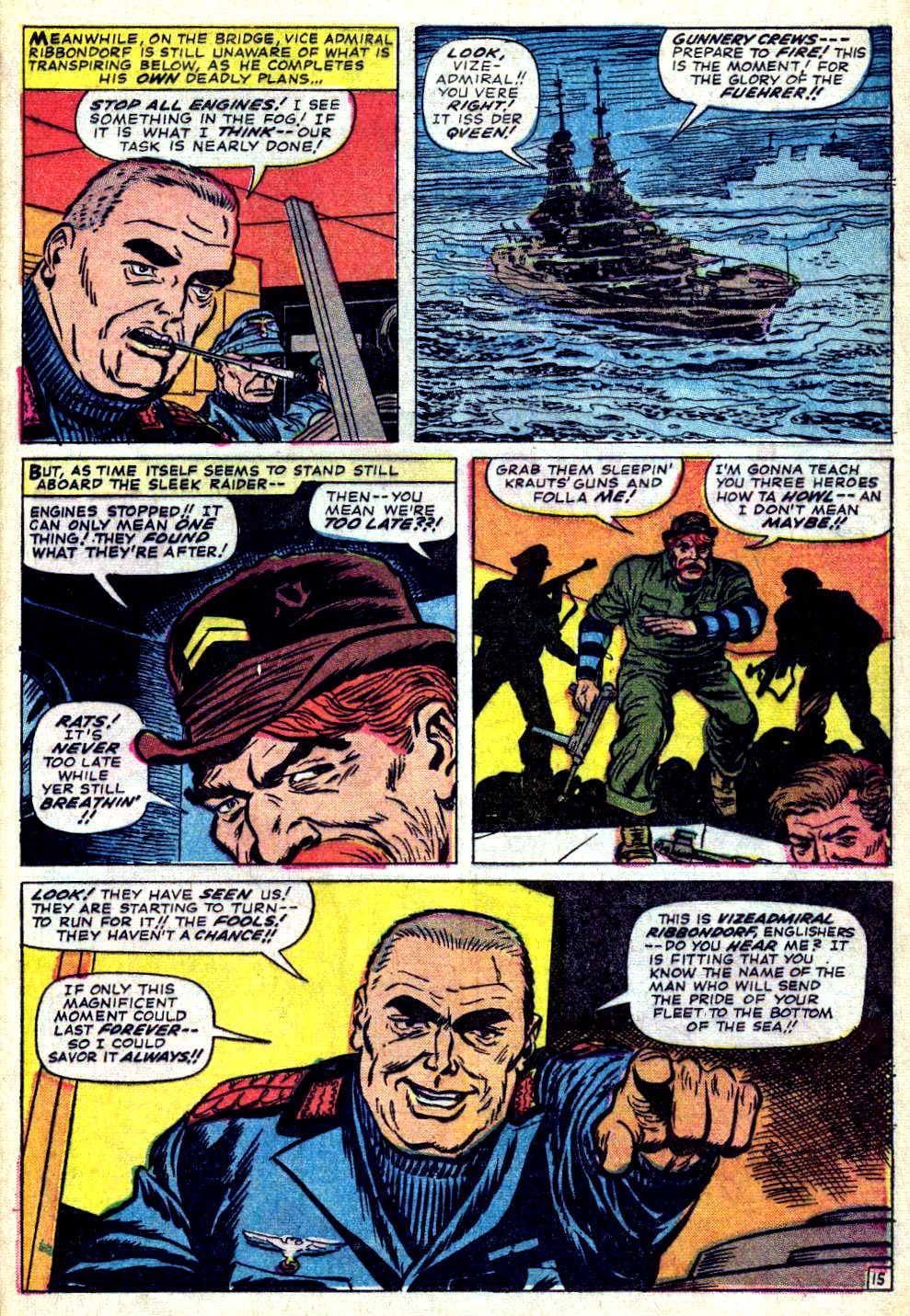Read online Sgt. Fury comic -  Issue #26 - 21