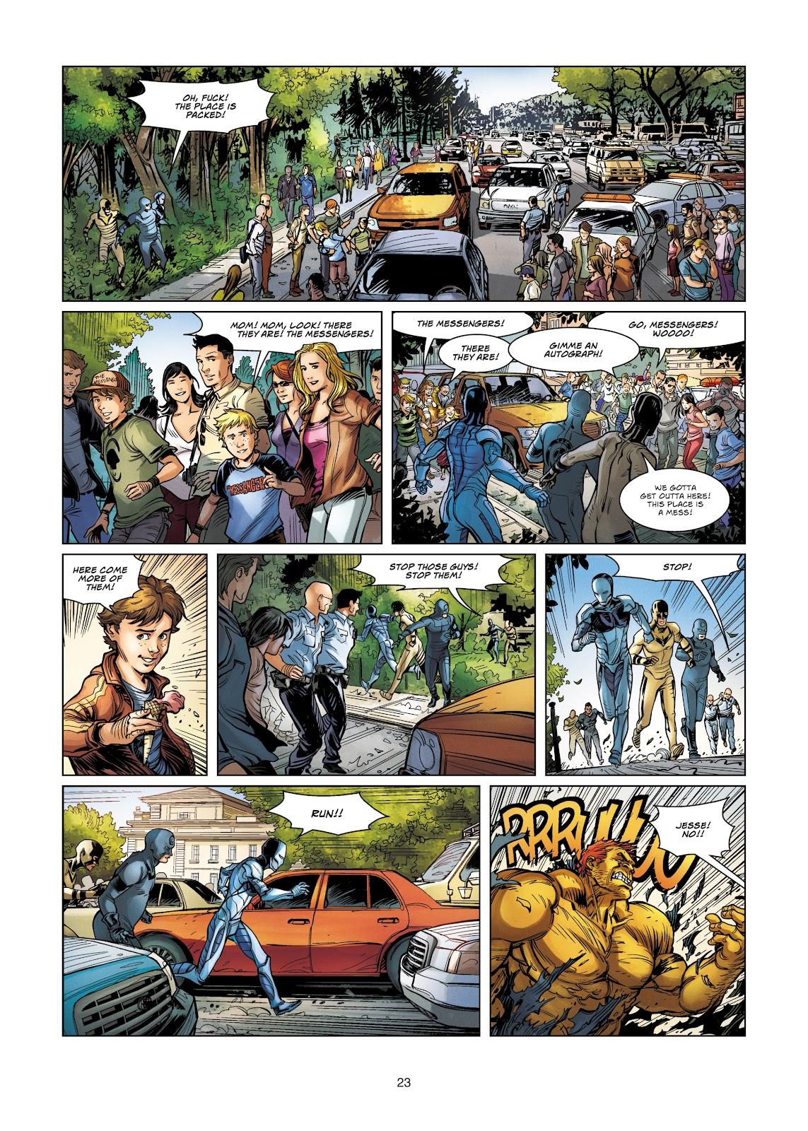 Read online Vigilantes comic -  Issue #4 - 23