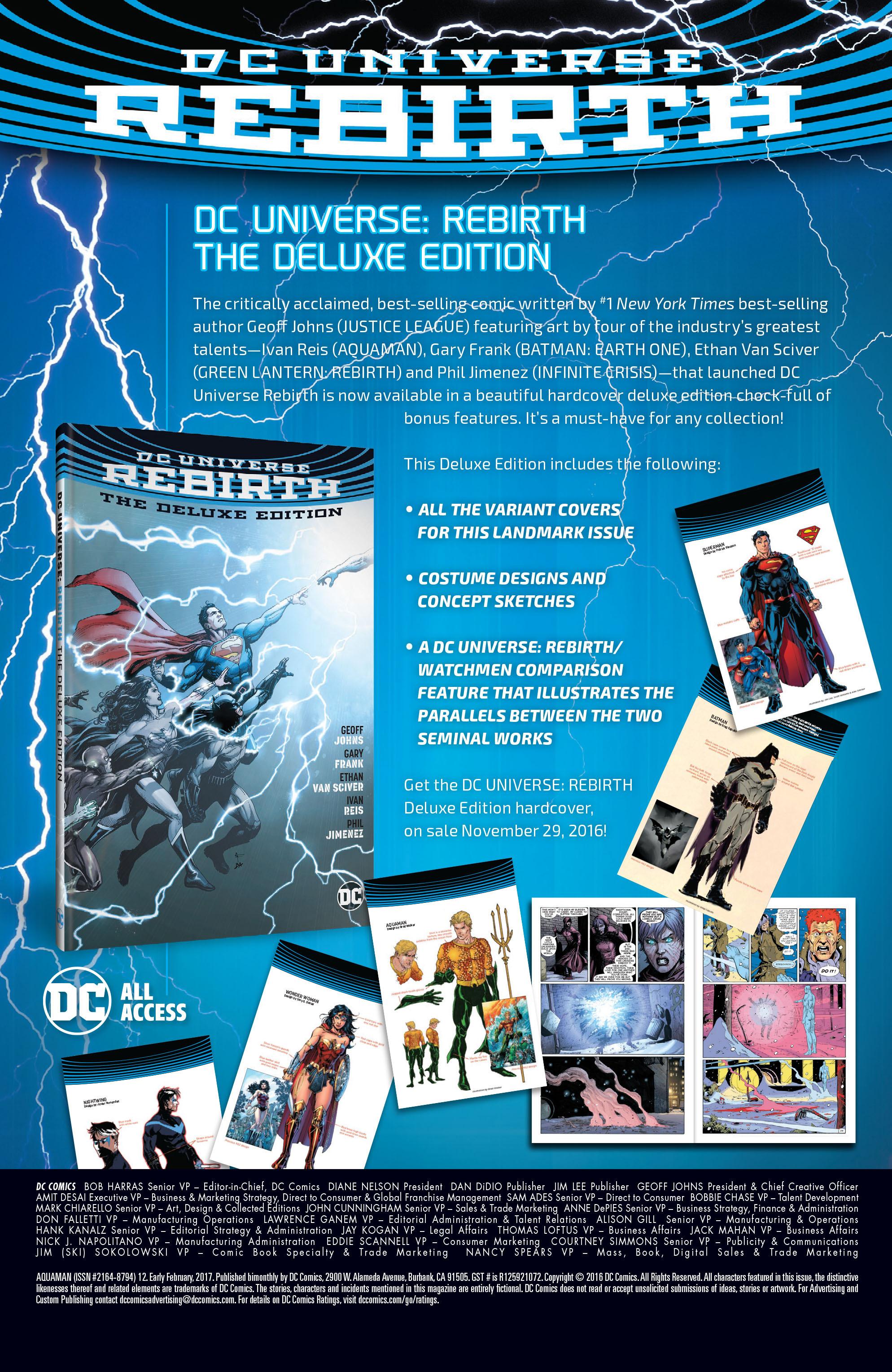 Read online Aquaman (2016) comic -  Issue #12 - 25