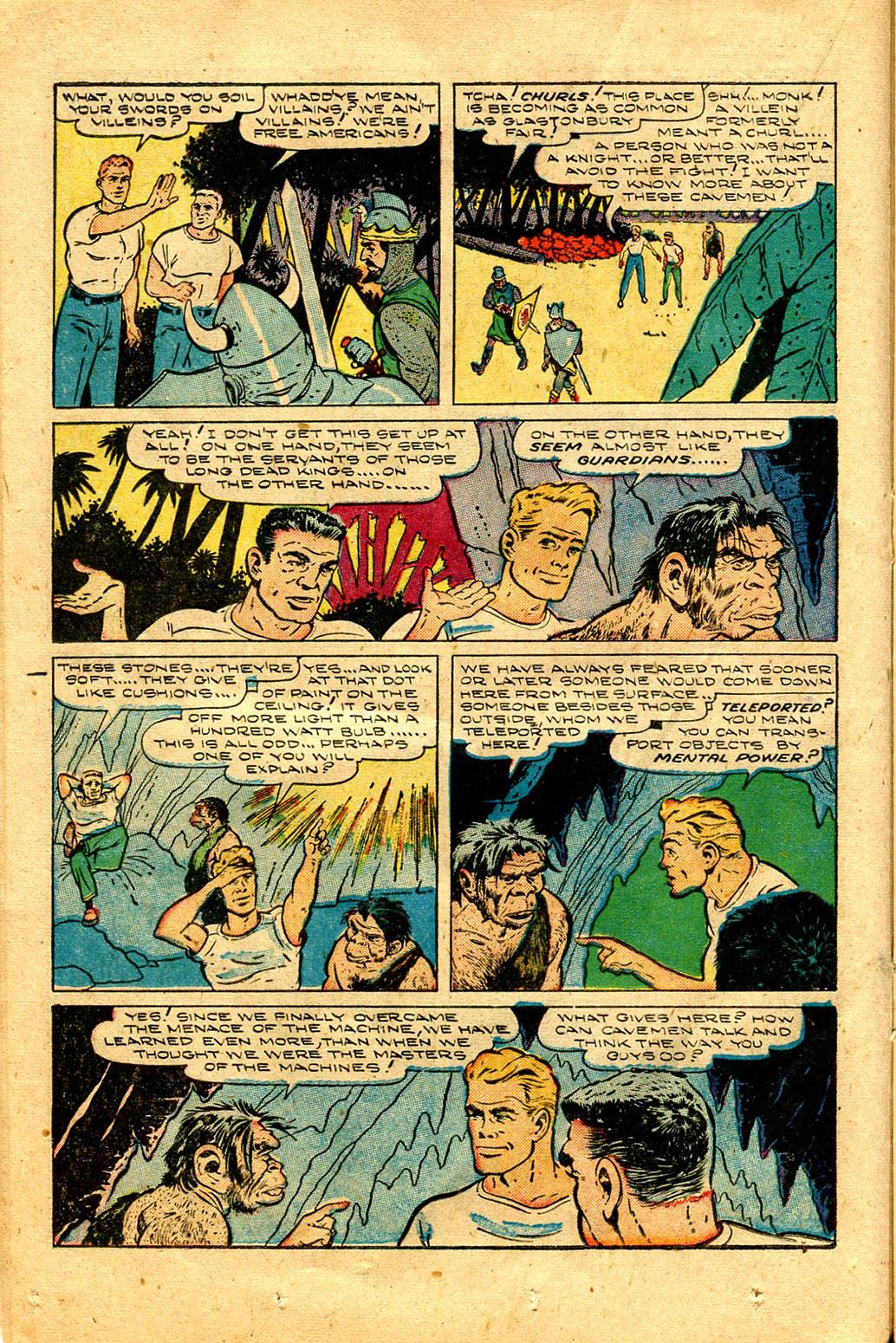 Read online Shadow Comics comic -  Issue #100 - 22