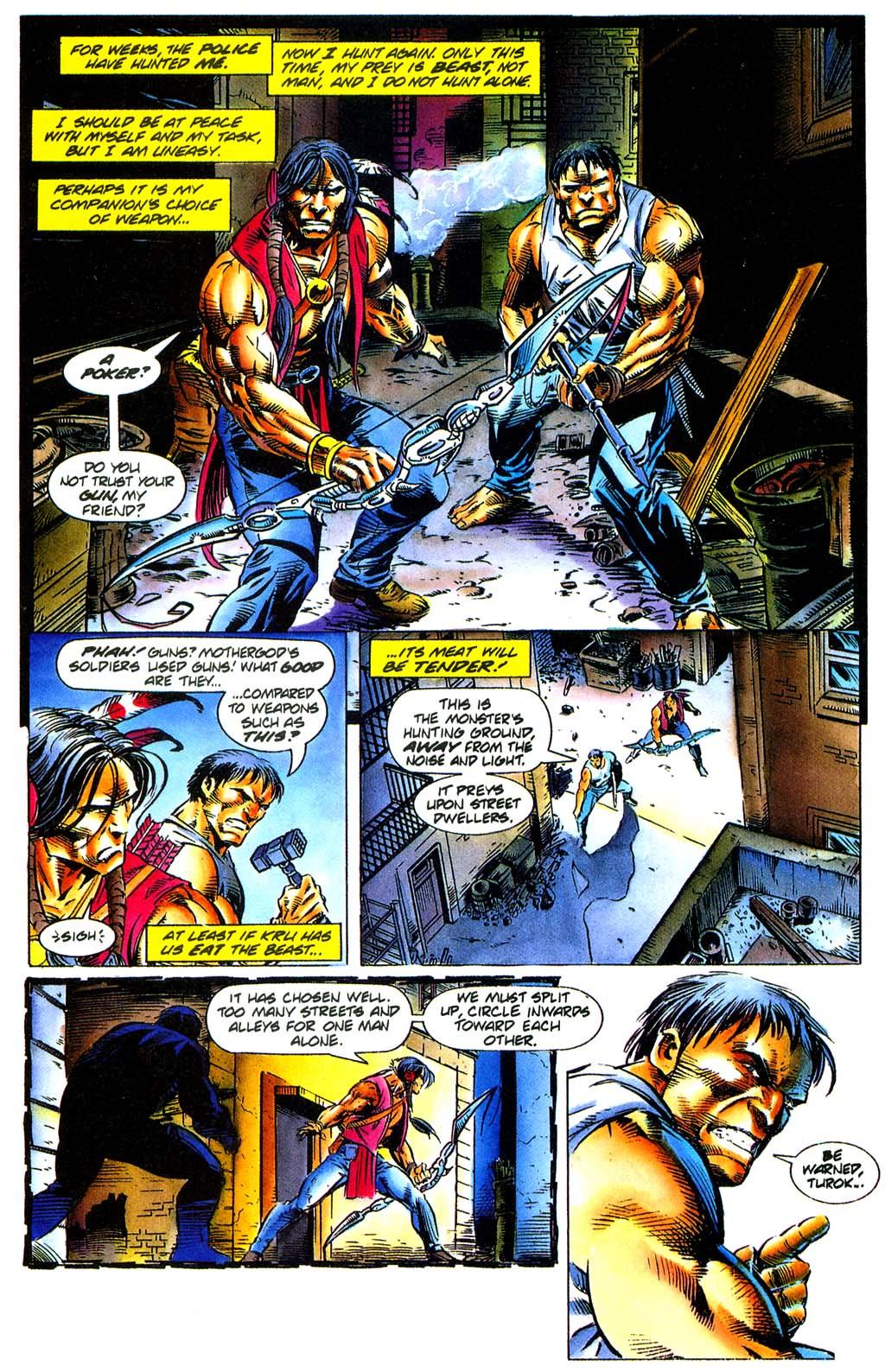 Read online Turok, Dinosaur Hunter (1993) comic -  Issue #29 - 17