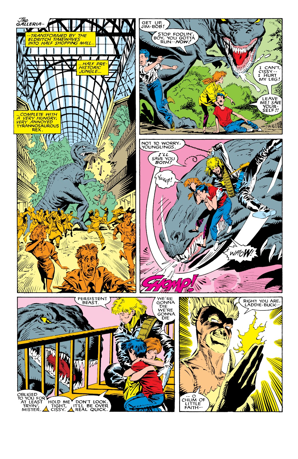 Read online X-Men Milestones: Fall of the Mutants comic -  Issue # TPB (Part 1) - 40