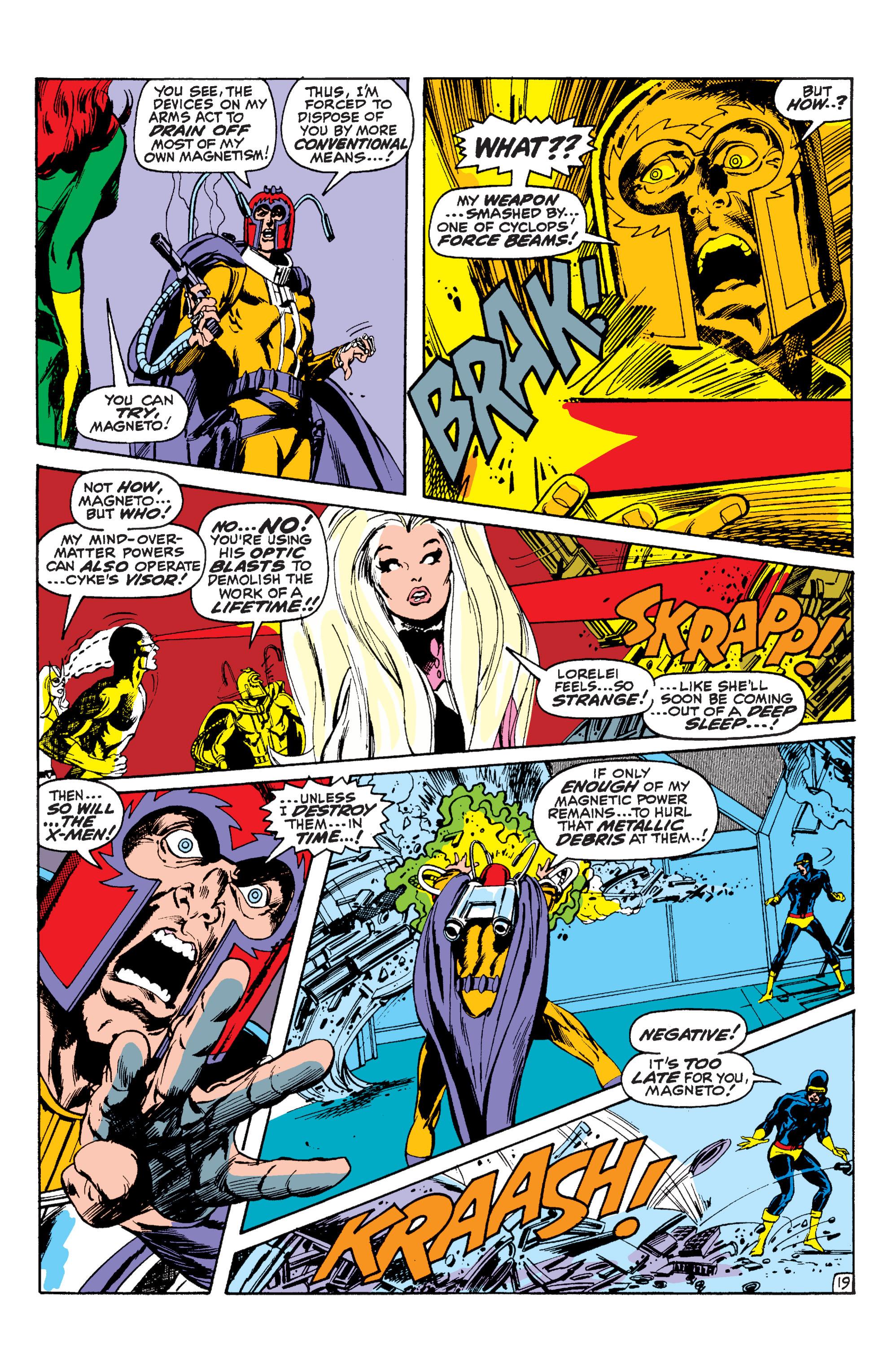 Read online Uncanny X-Men (1963) comic -  Issue #63 - 20