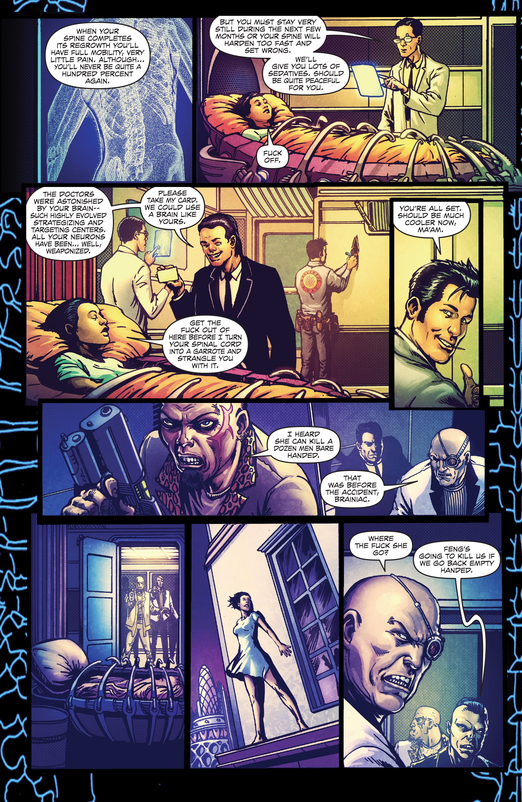 Read online Ballistic (2013) comic -  Issue #4 - 8