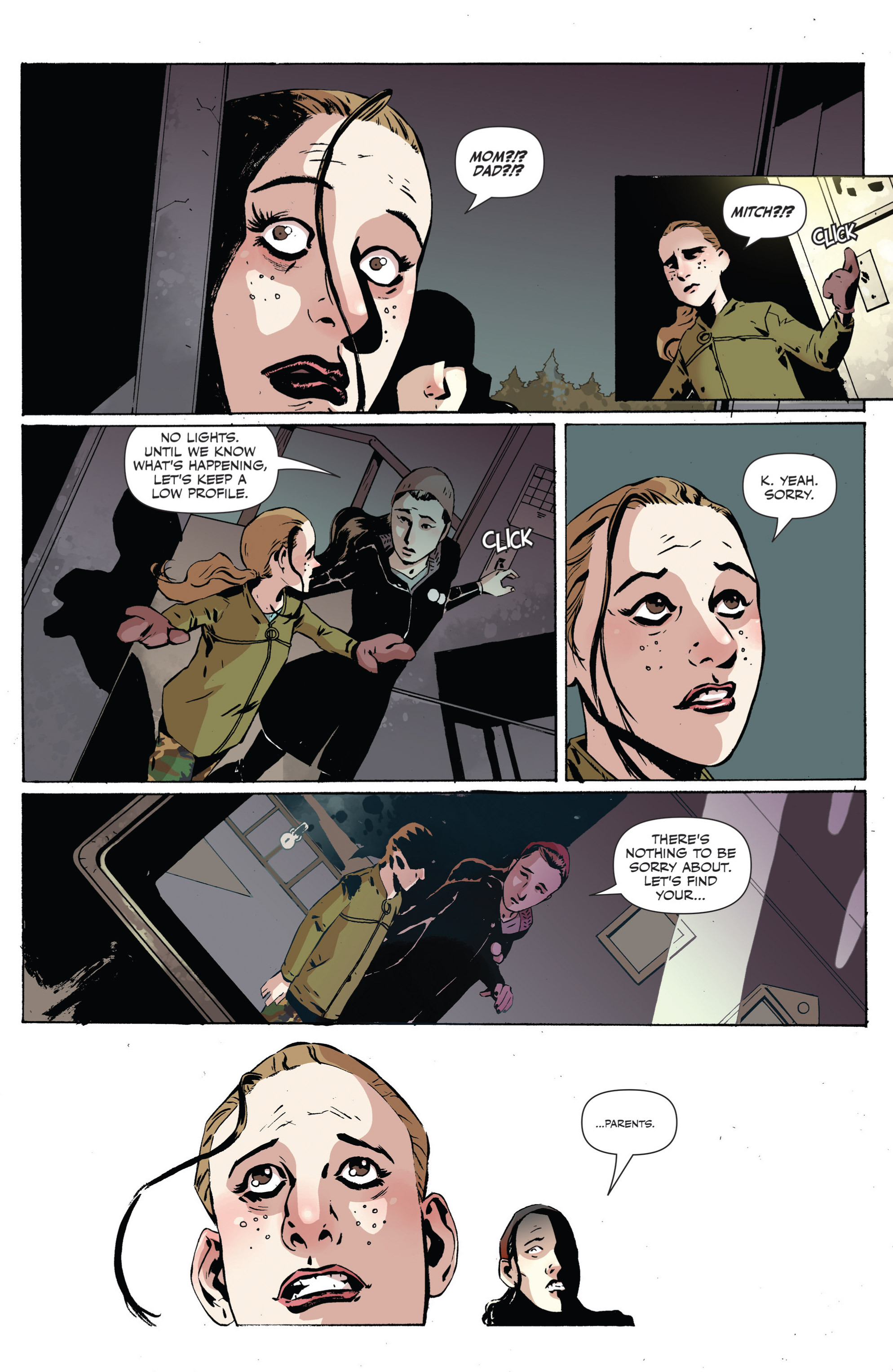 Read online Sheltered comic -  Issue #2 - 13