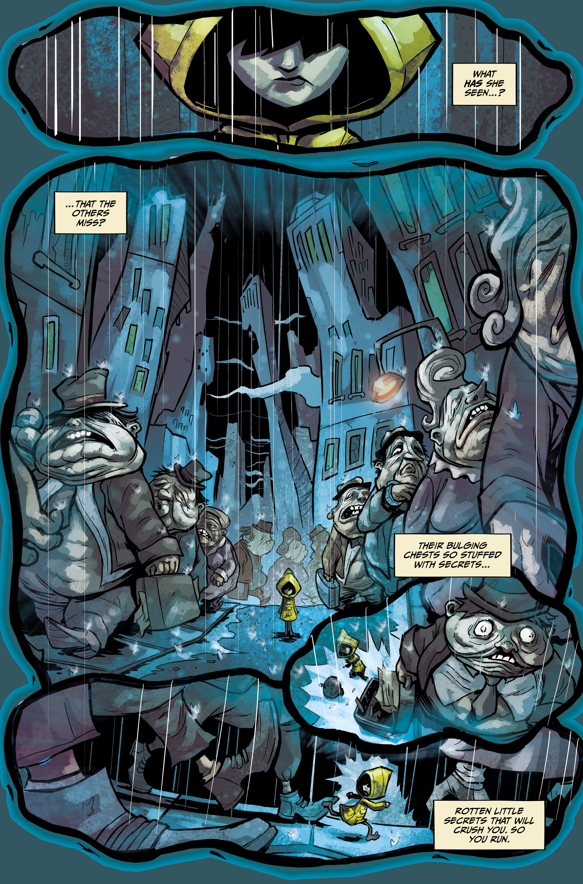 Read online Little Nightmares comic -  Issue #1 - 5