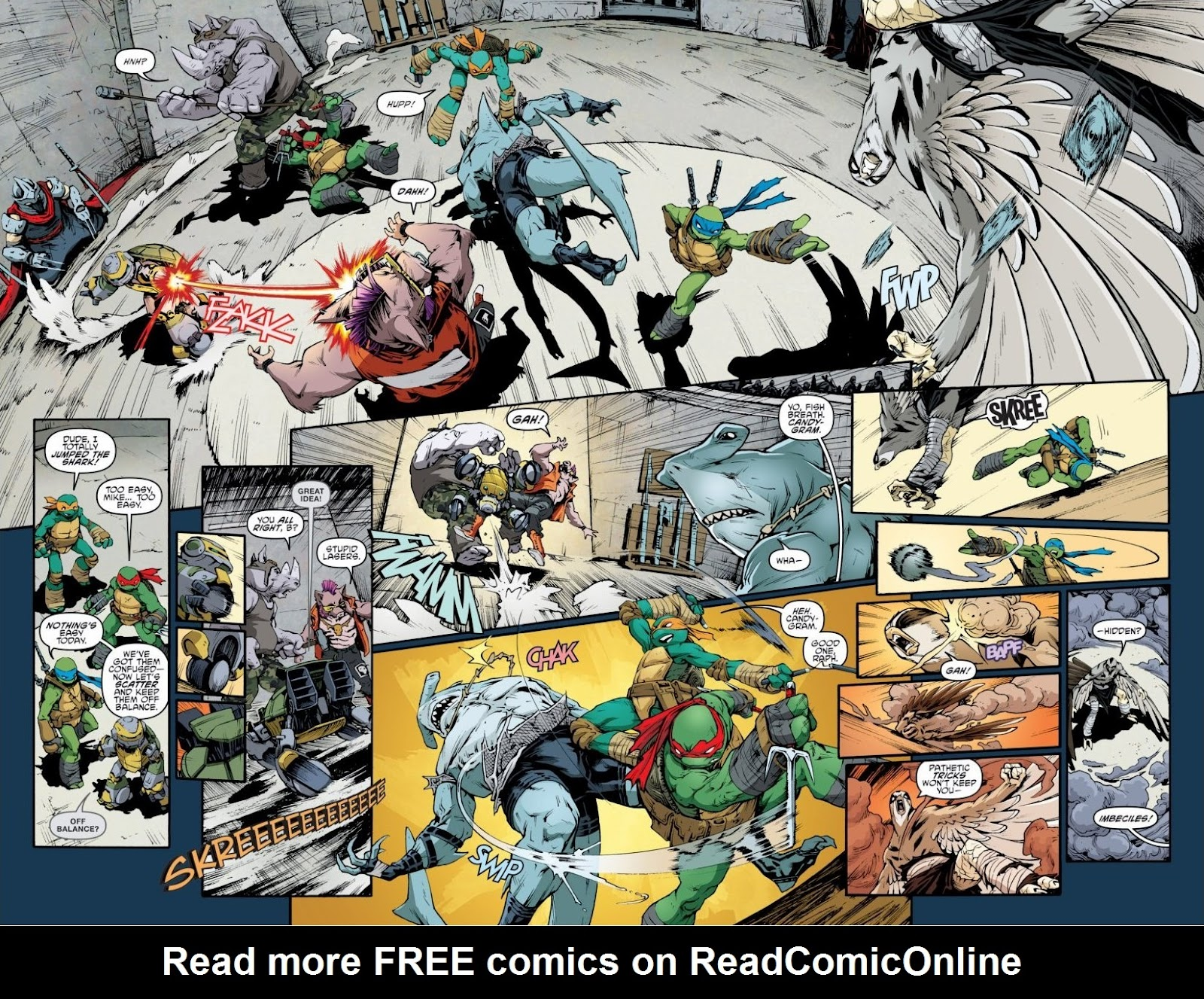 Read online Teenage Mutant Ninja Turtles: The IDW Collection comic -  Issue # TPB 6 (Part 3) - 42
