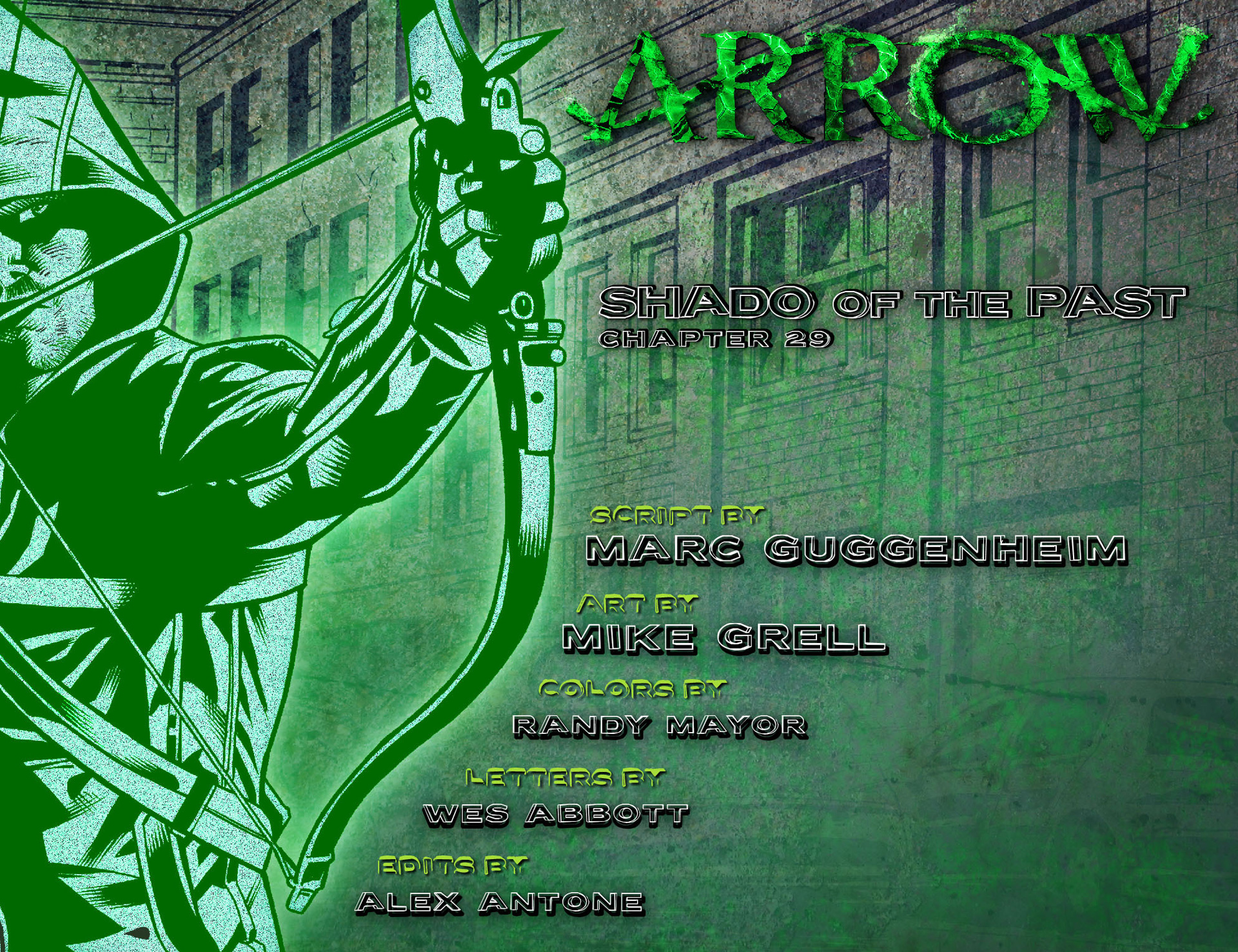 Read online Arrow [II] comic -  Issue #29 - 2