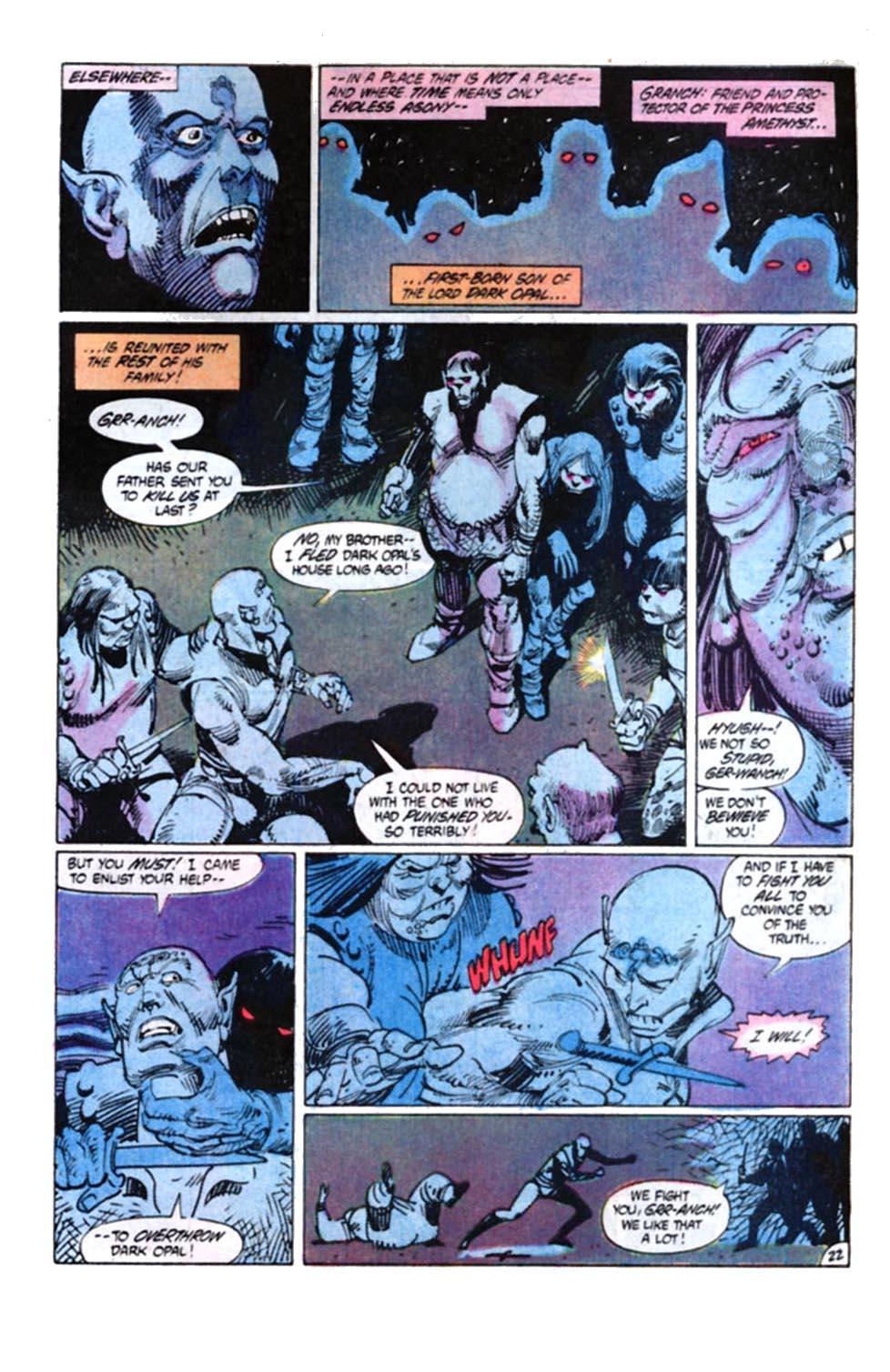 Read online Amethyst, Princess of Gemworld comic -  Issue #4 - 22