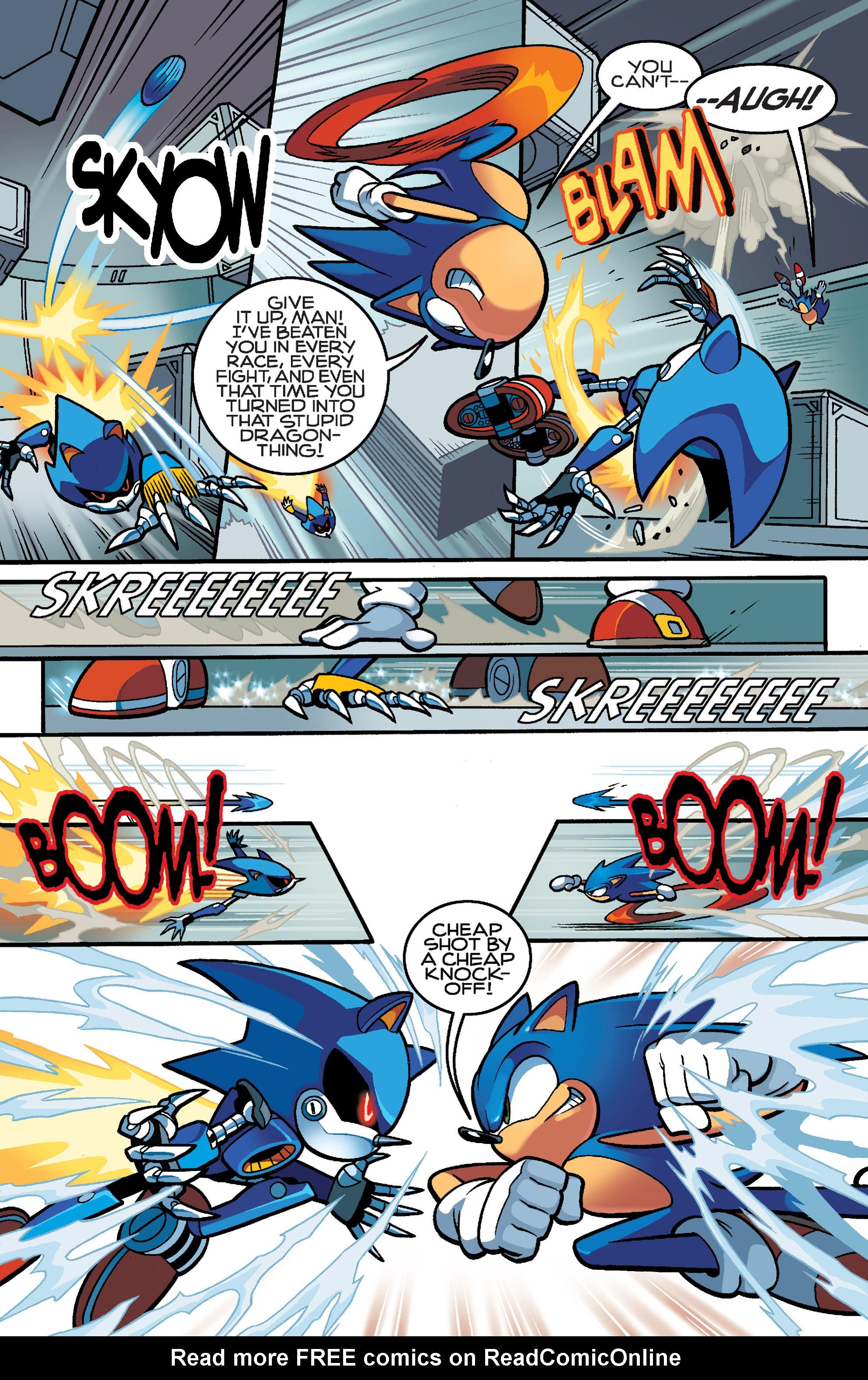 Read online Sonic Mega Man Worlds Collide comic -  Issue # Vol 3 - 76