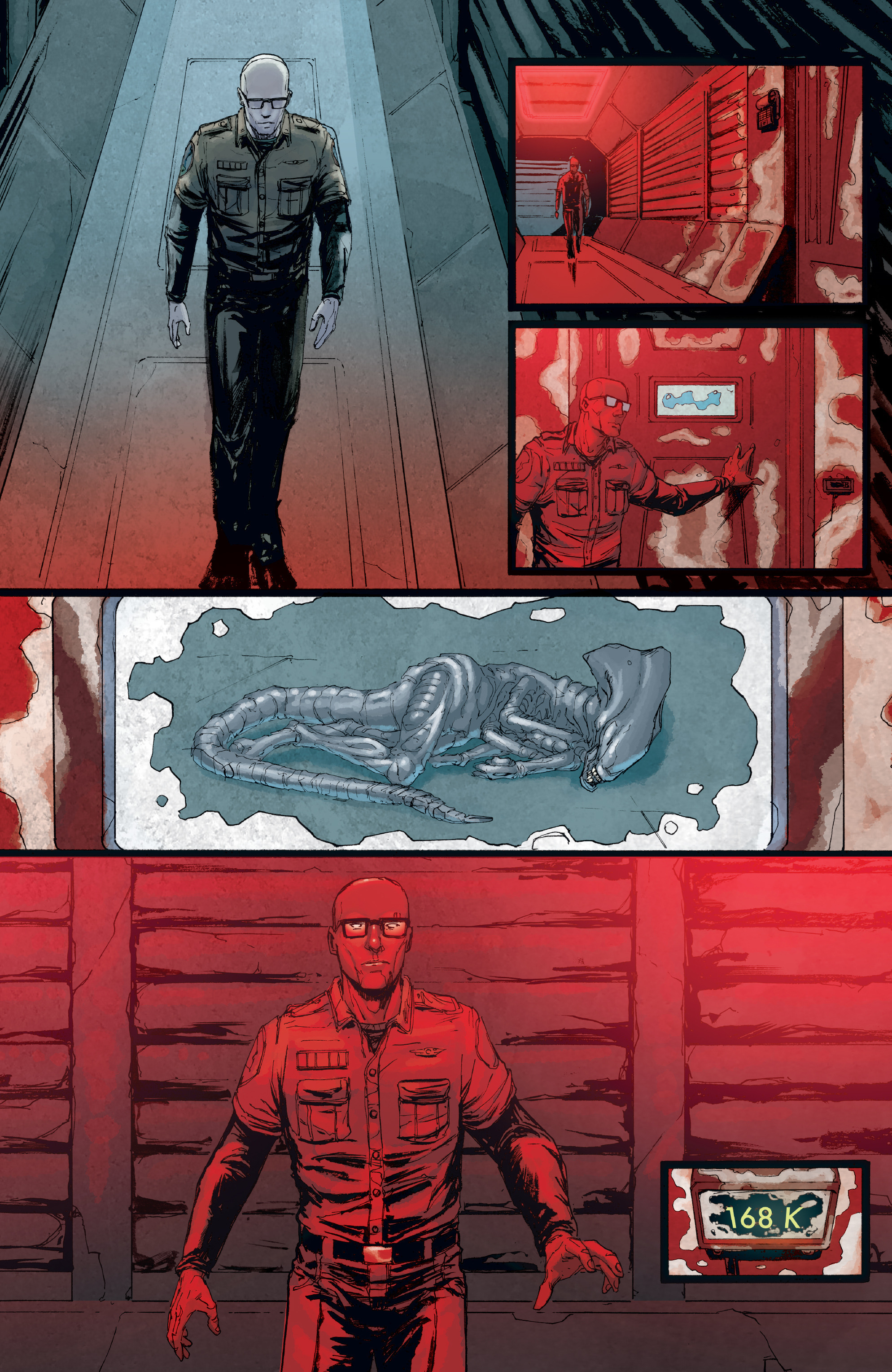 Read online Aliens: Defiance comic -  Issue #8 - 23