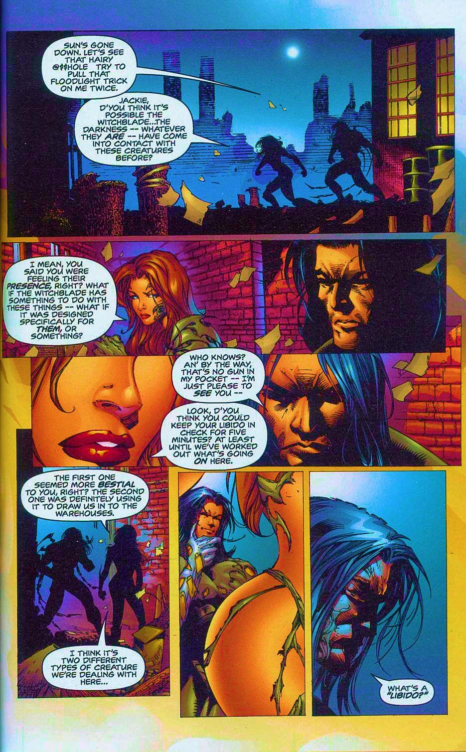 Read online Overkill: Witchblade/Aliens/Darkness/Predator comic -  Issue #2 - 14
