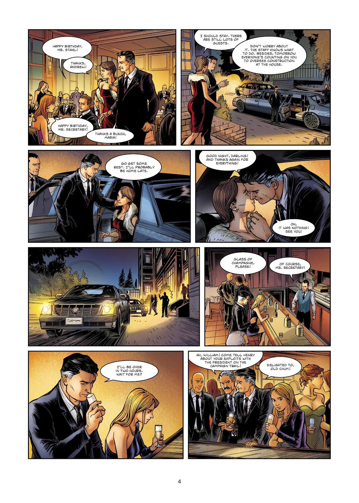 Read online Vigilantes comic -  Issue #4 - 4