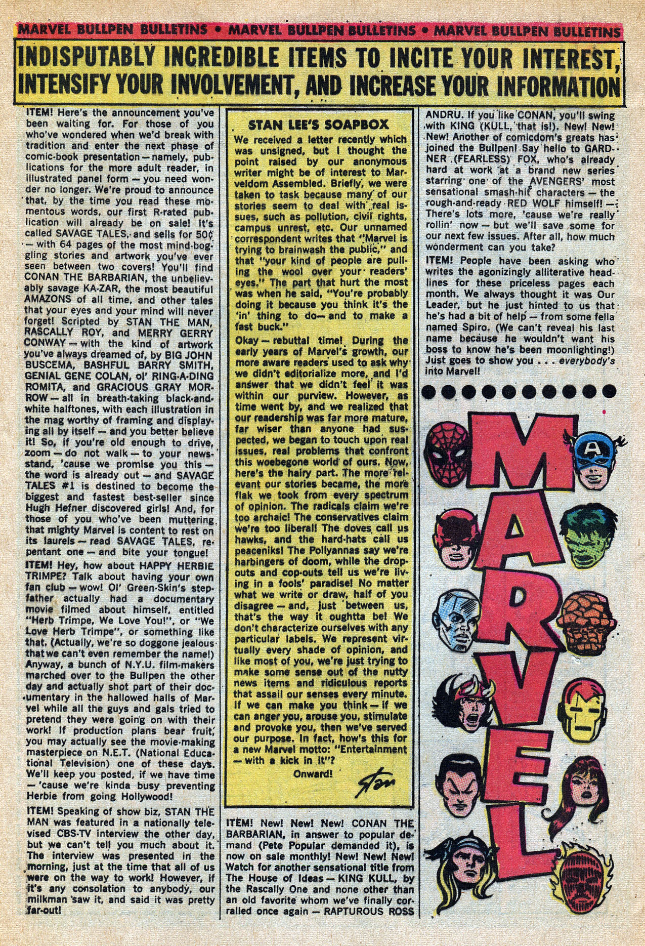 Read online Amazing Adventures (1970) comic -  Issue #6 - 32