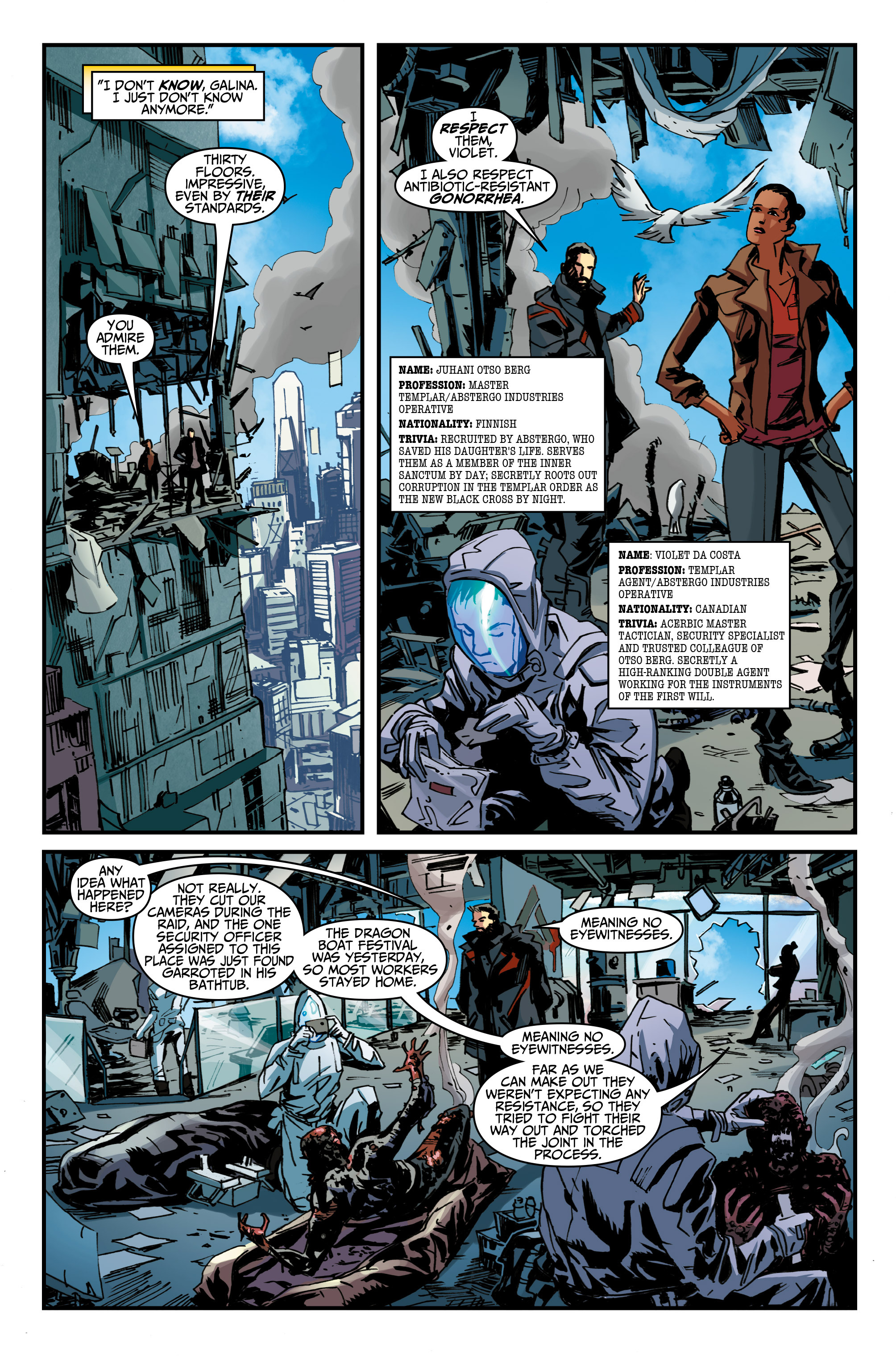 Read online Assassin's Creed: Uprising comic -  Issue #1 - 21