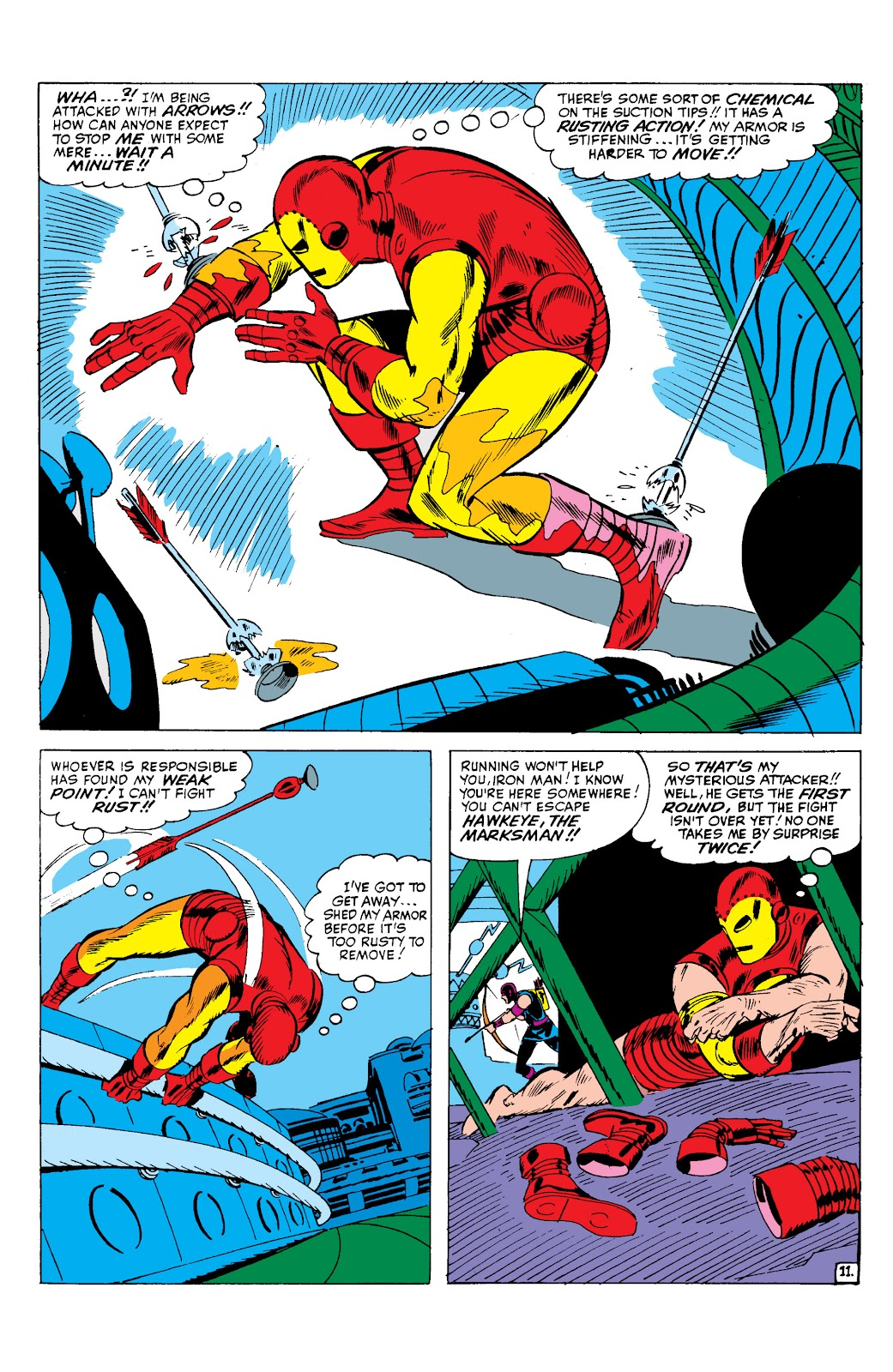 Read online Marvel Masterworks: The Invincible Iron Man comic -  Issue # TPB 2 (Part 2) - 12