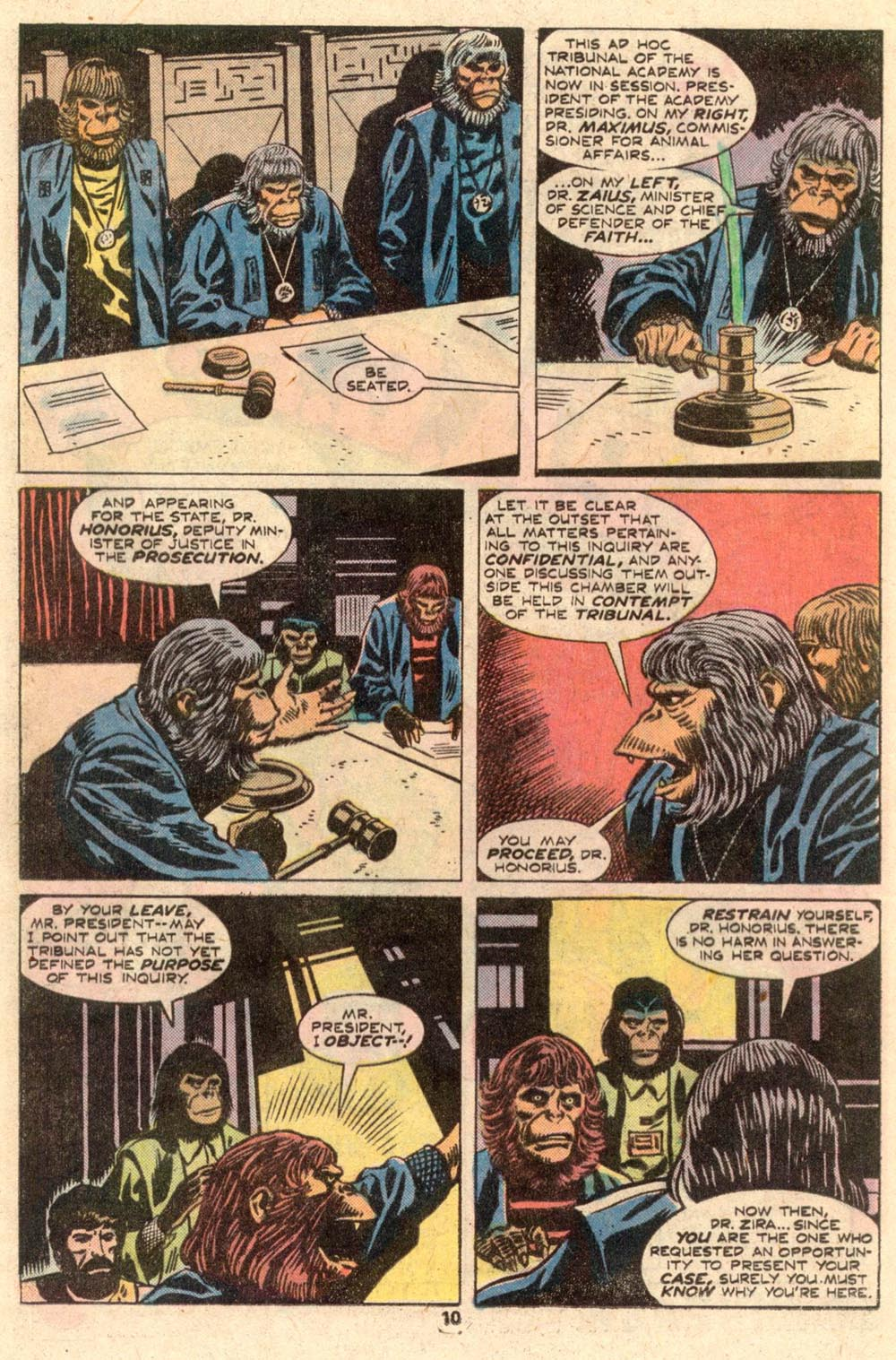 Read online Adventures on the Planet of the Apes comic -  Issue #4 - 7